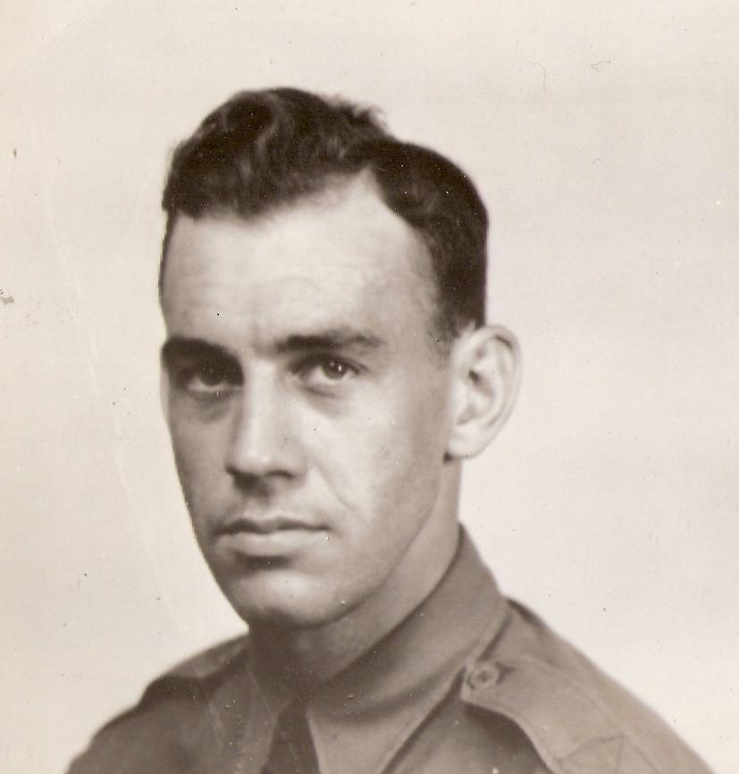ريتشارد كول إبان خدمته في القوات الأميركية