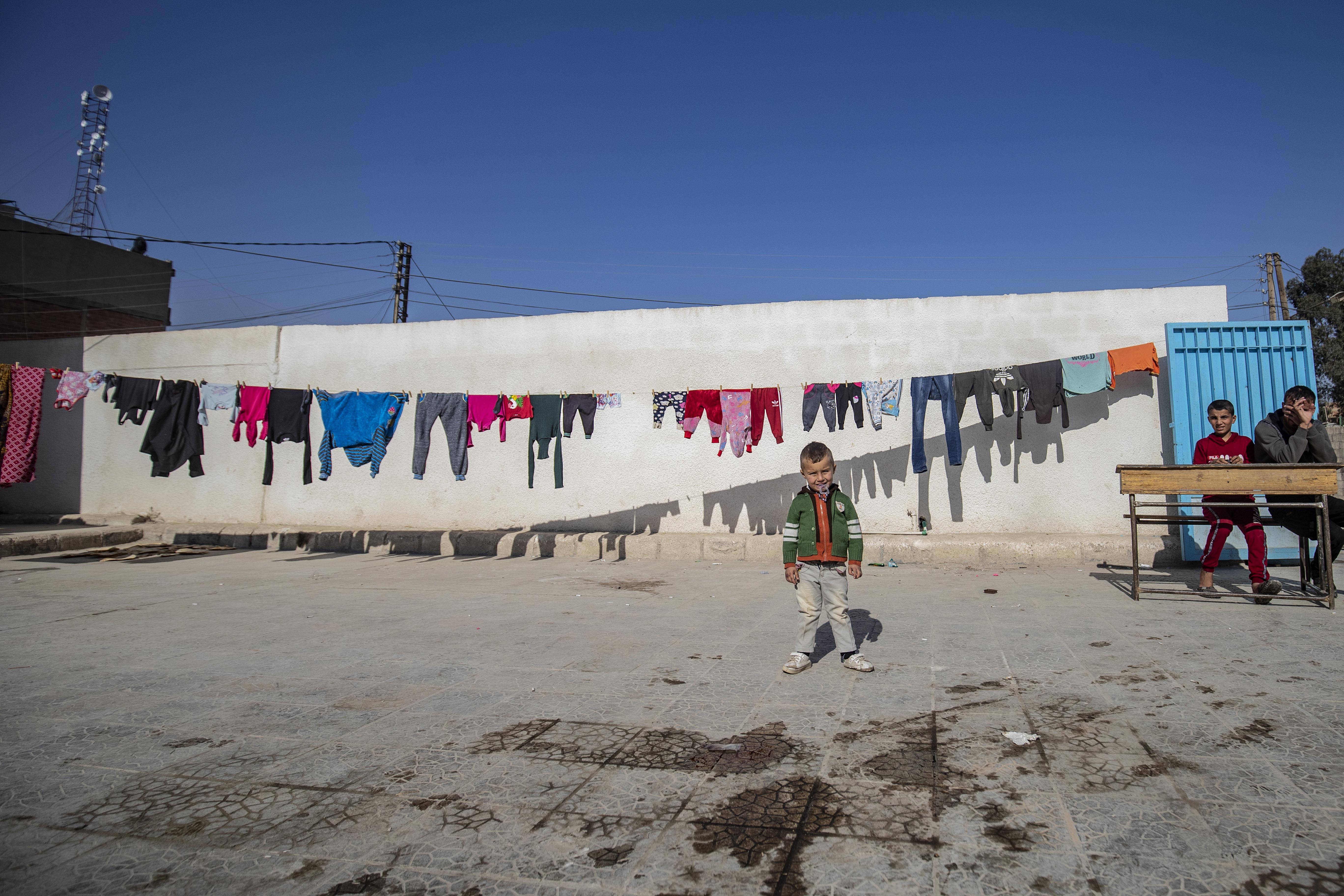 النازحون يتوافدون بشكل دائم خاصة في مدينة الحسكة منذ بدء الهجوم التركي