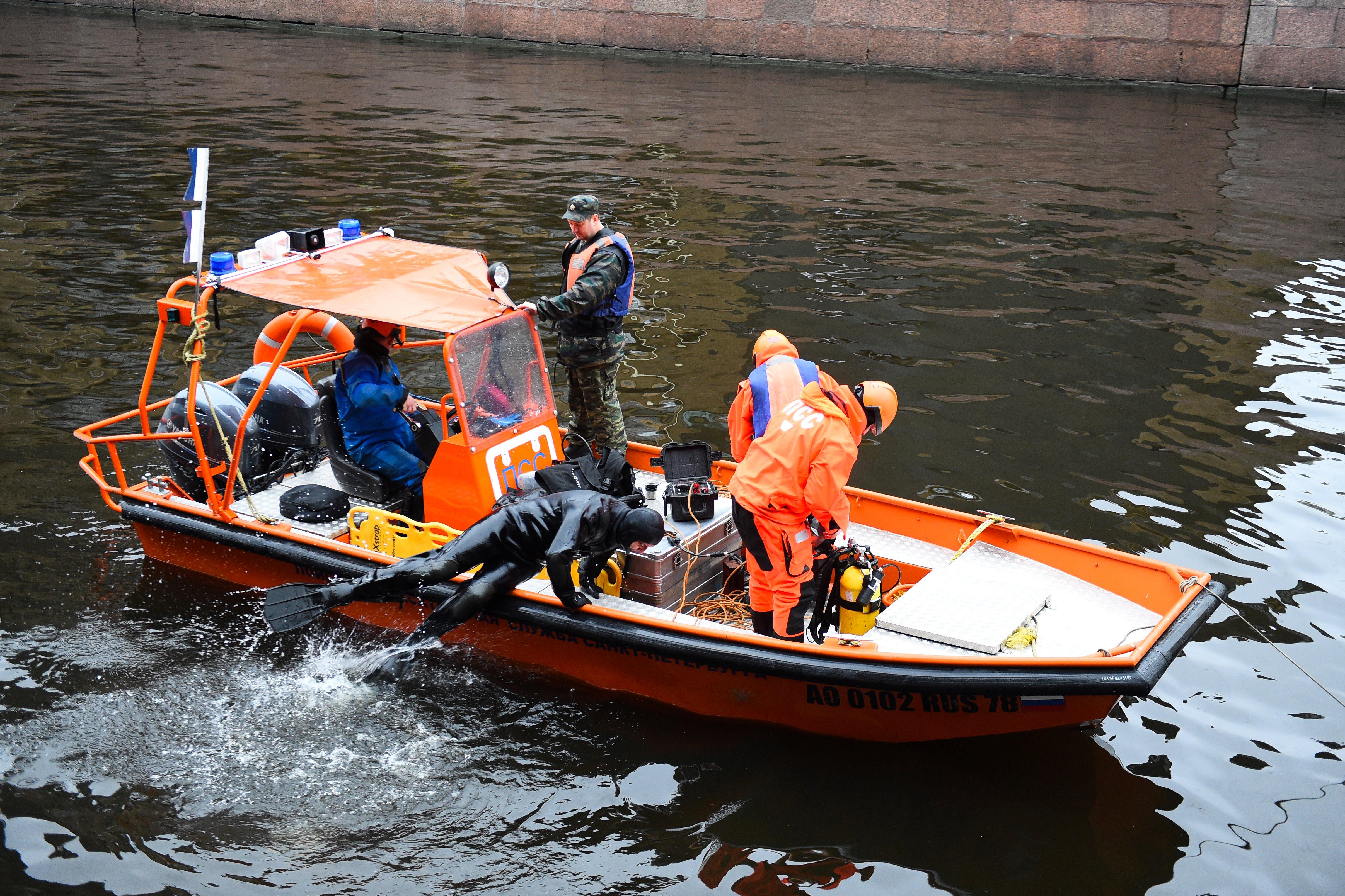 الشرطة الروسية تبحث عن أجزاء من جثة أناستازيا يشيشنكو في نهر مويكا