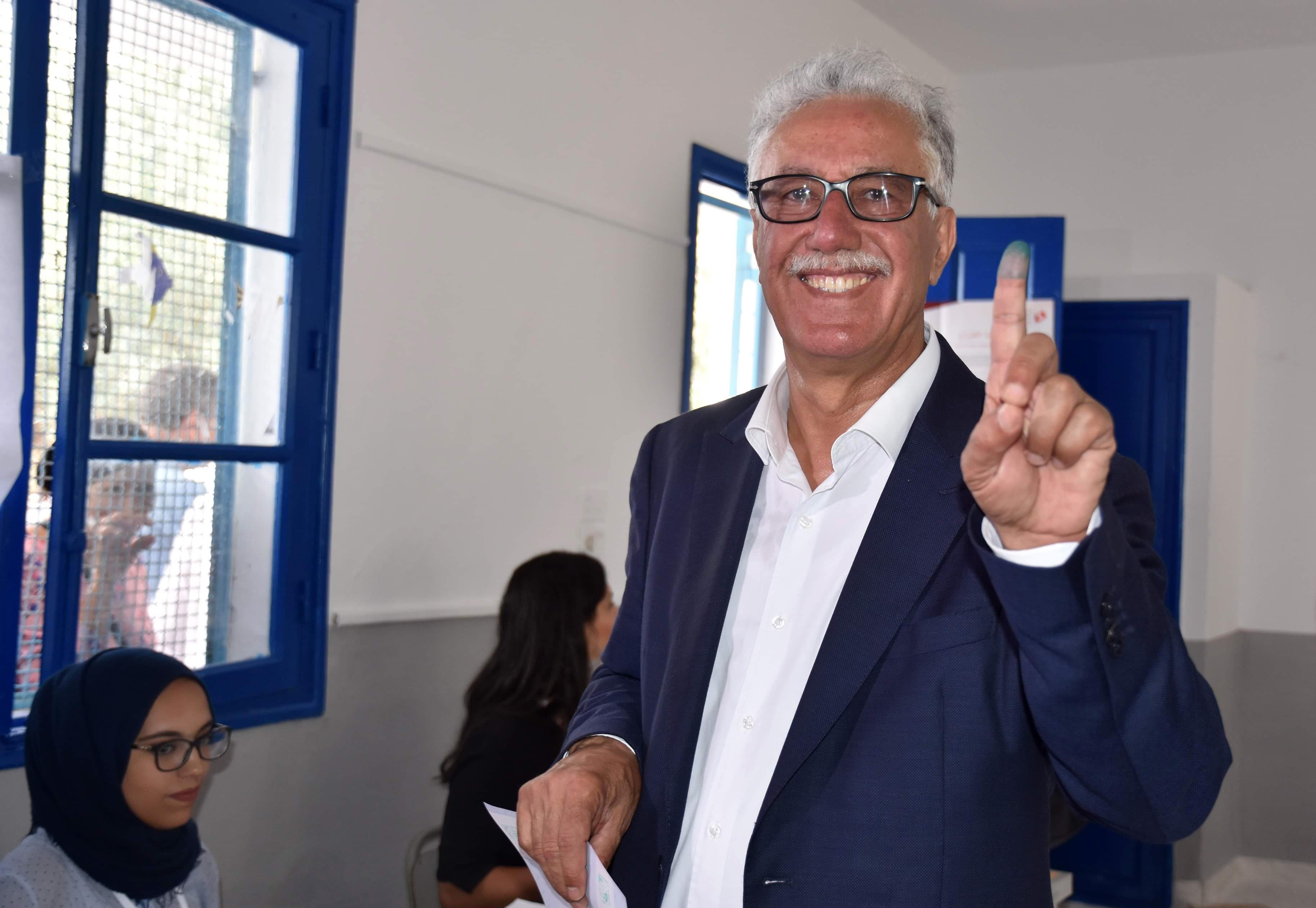 حمة الهمامي (67 عاما) مرشح مستقل للانتخابات الرئاسية التونسية