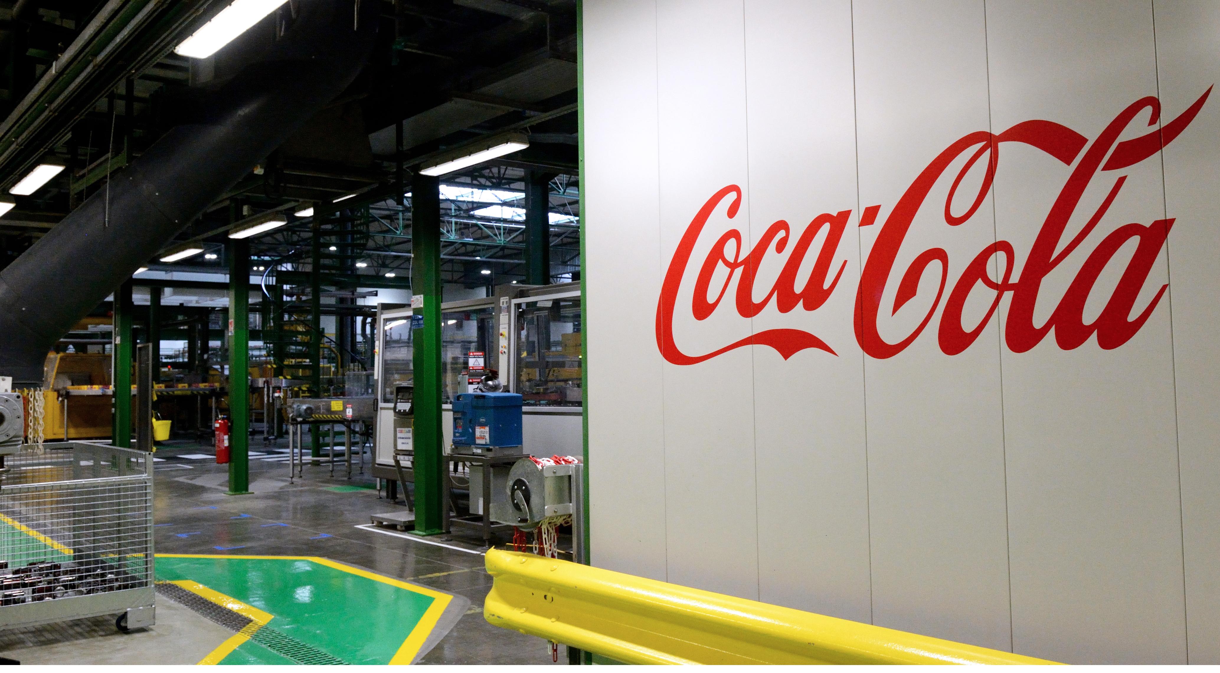 شعار كوكا كولا