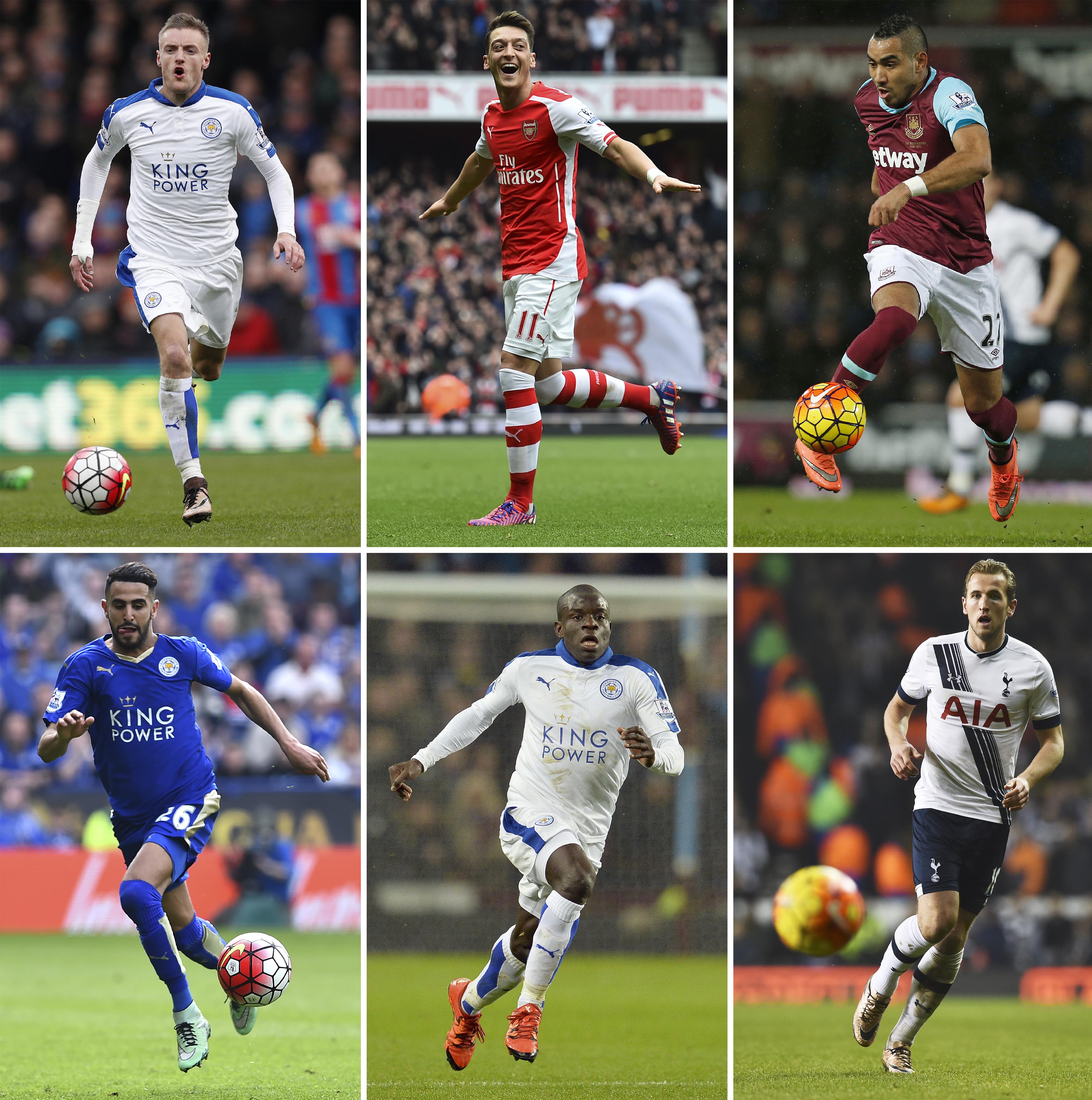 القائمة التي كانت مرشحة للفوز بلقب أحسن لاعب في الدوري الانجليزي الممتاز