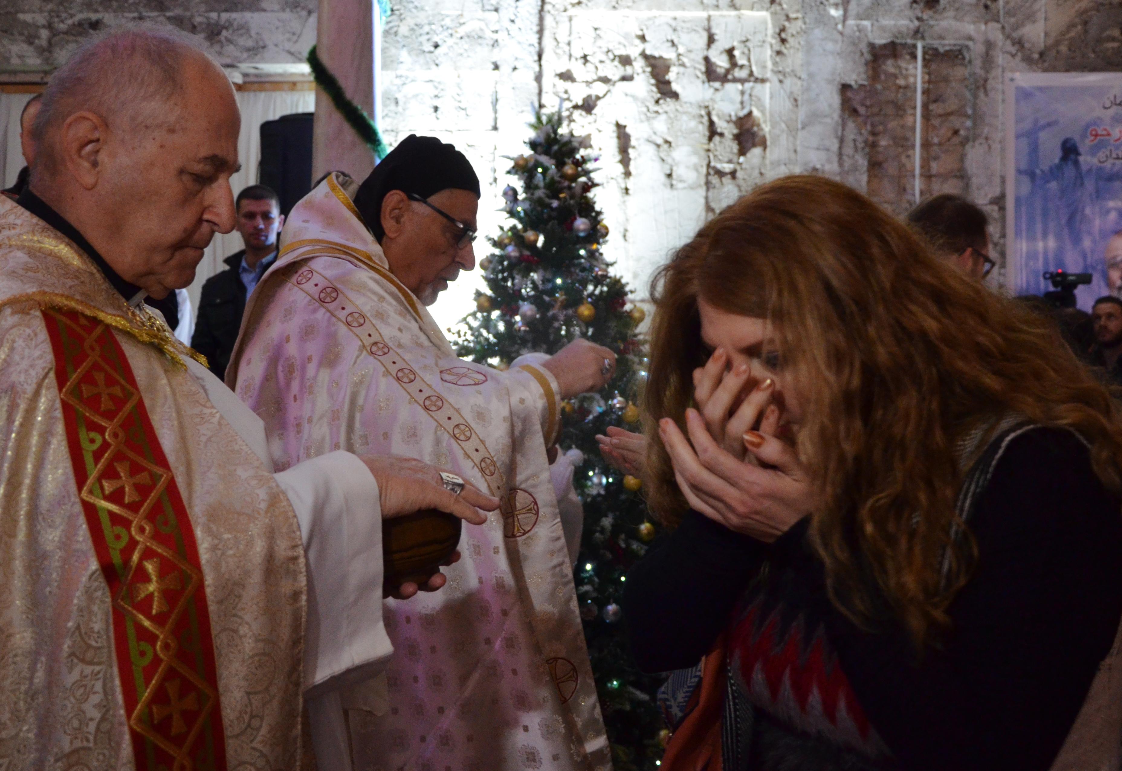القداس أقيم في كنيسة مار بولص بالموصل