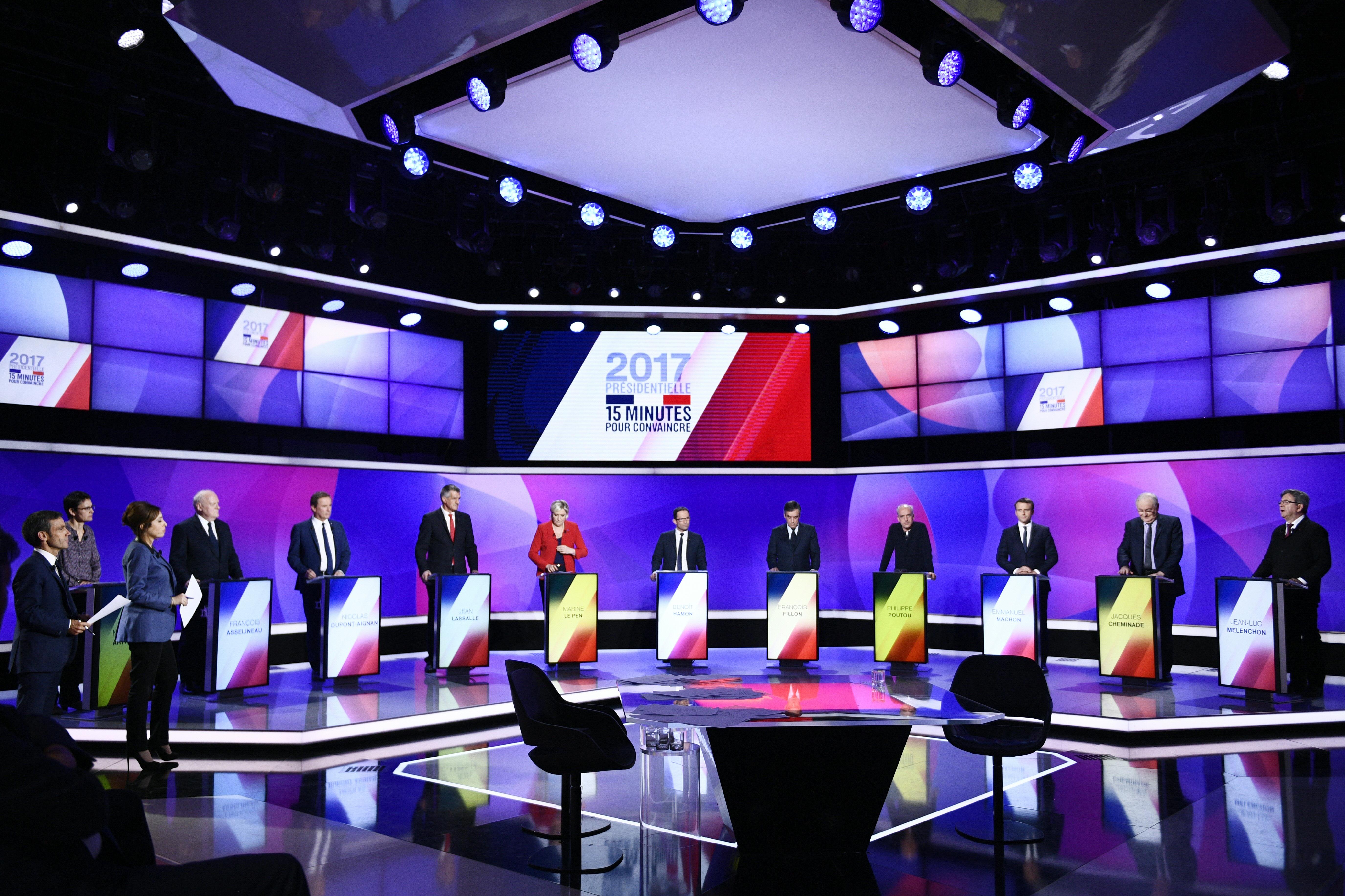 المرشحون الـ11 لانتخابات الرئاسة الفرنسية