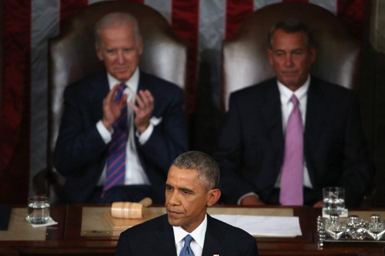 الرئيس أوباما يلقي خطاب حالة الاتحاد أمام مجلسي الكونغرس مساء الثلاثاء