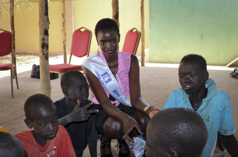 ملكة جمال العالم بجنوب السودان لعام 2017، أروال لونغار