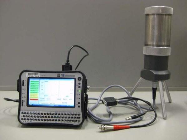 أحد الأجهزة المستخدمة في الكشف عن أشعة الغاما