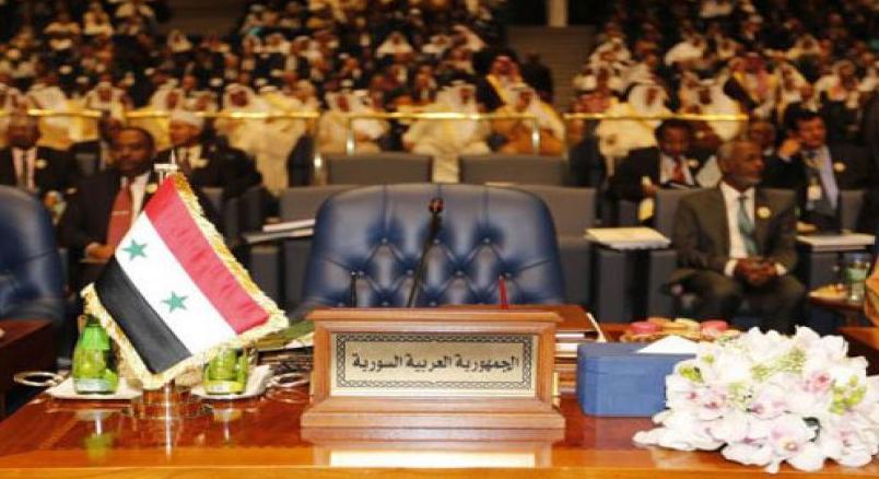 مقعد سورية في القمة العربية بالبحر الميت فارغا