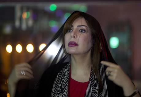 الناشطة السعودية سعاد الشمري