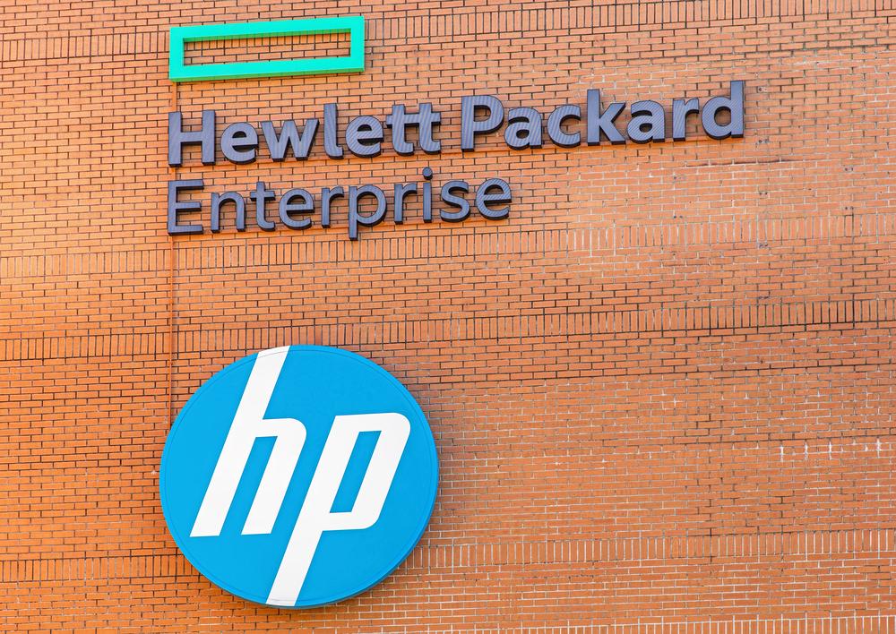 واجهة فرع لشركة HP