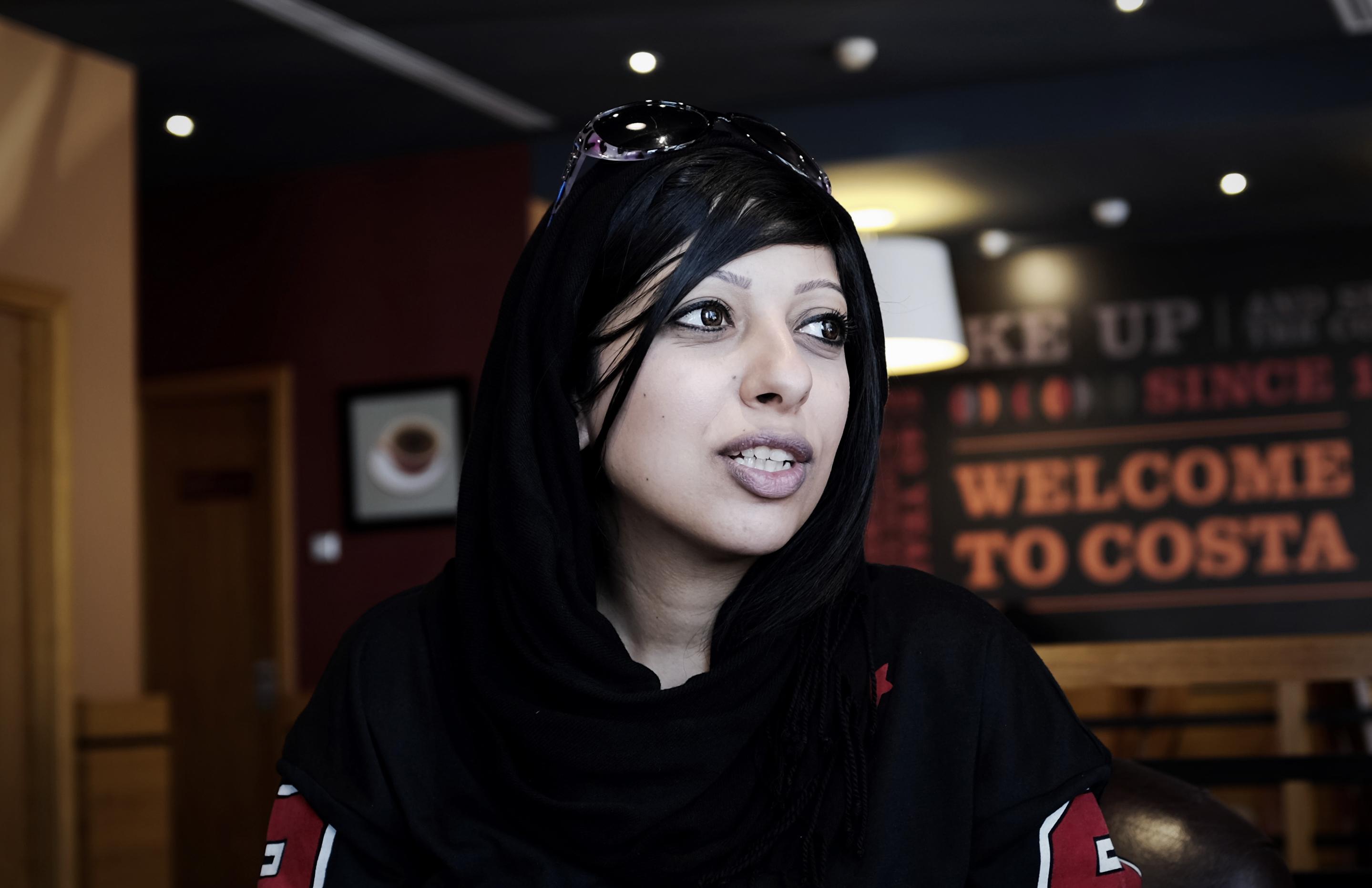 الناشطة البحرينية زينب الخواجة
