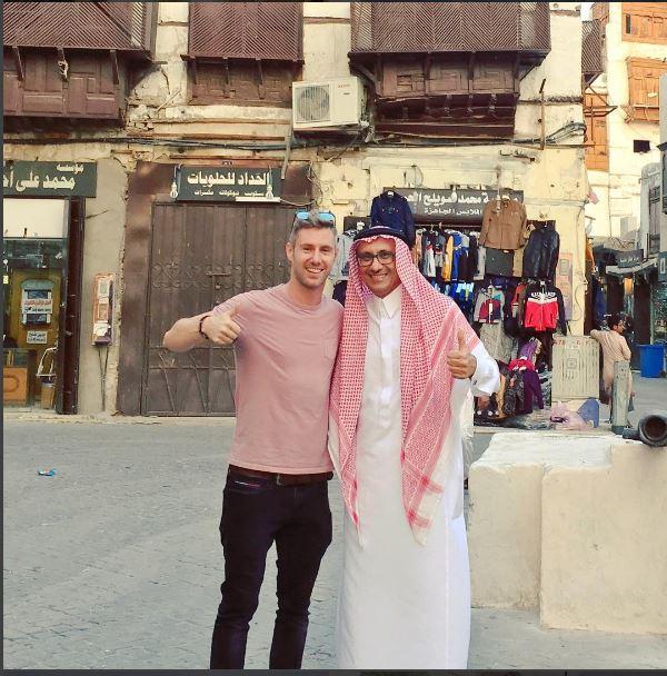 في جدة بالسعودية