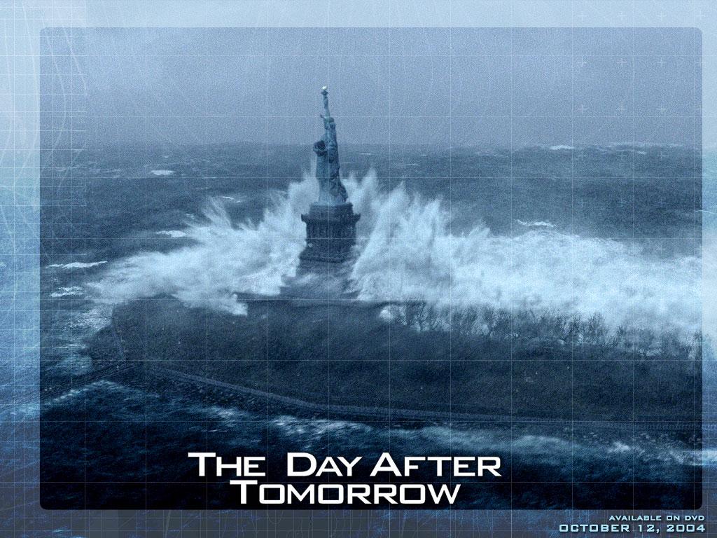 صورة مأخوذة من فلم The Day After Tomorrow