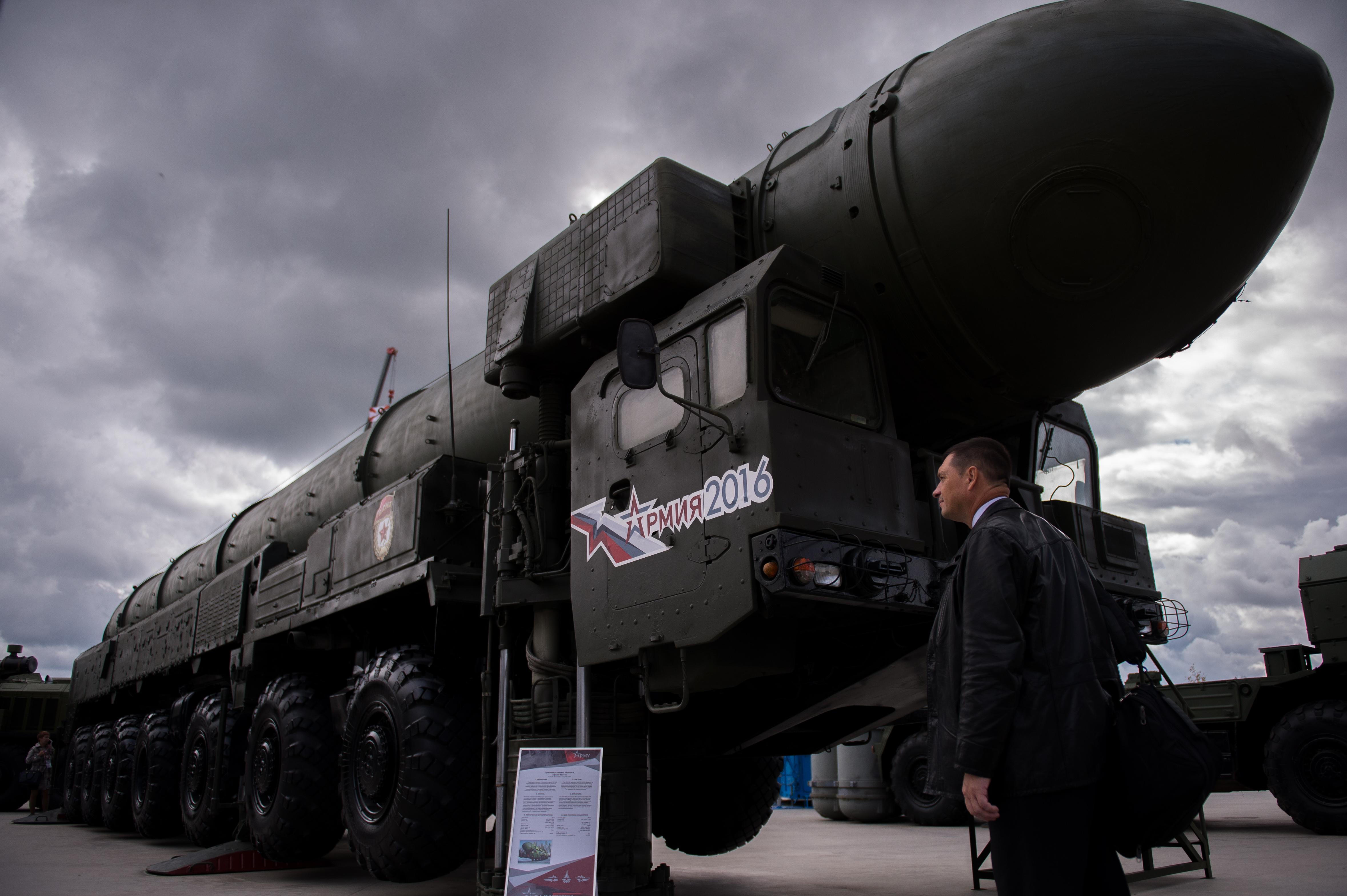 صاروخ توبول الروسي العابر للقارات - أرشيف