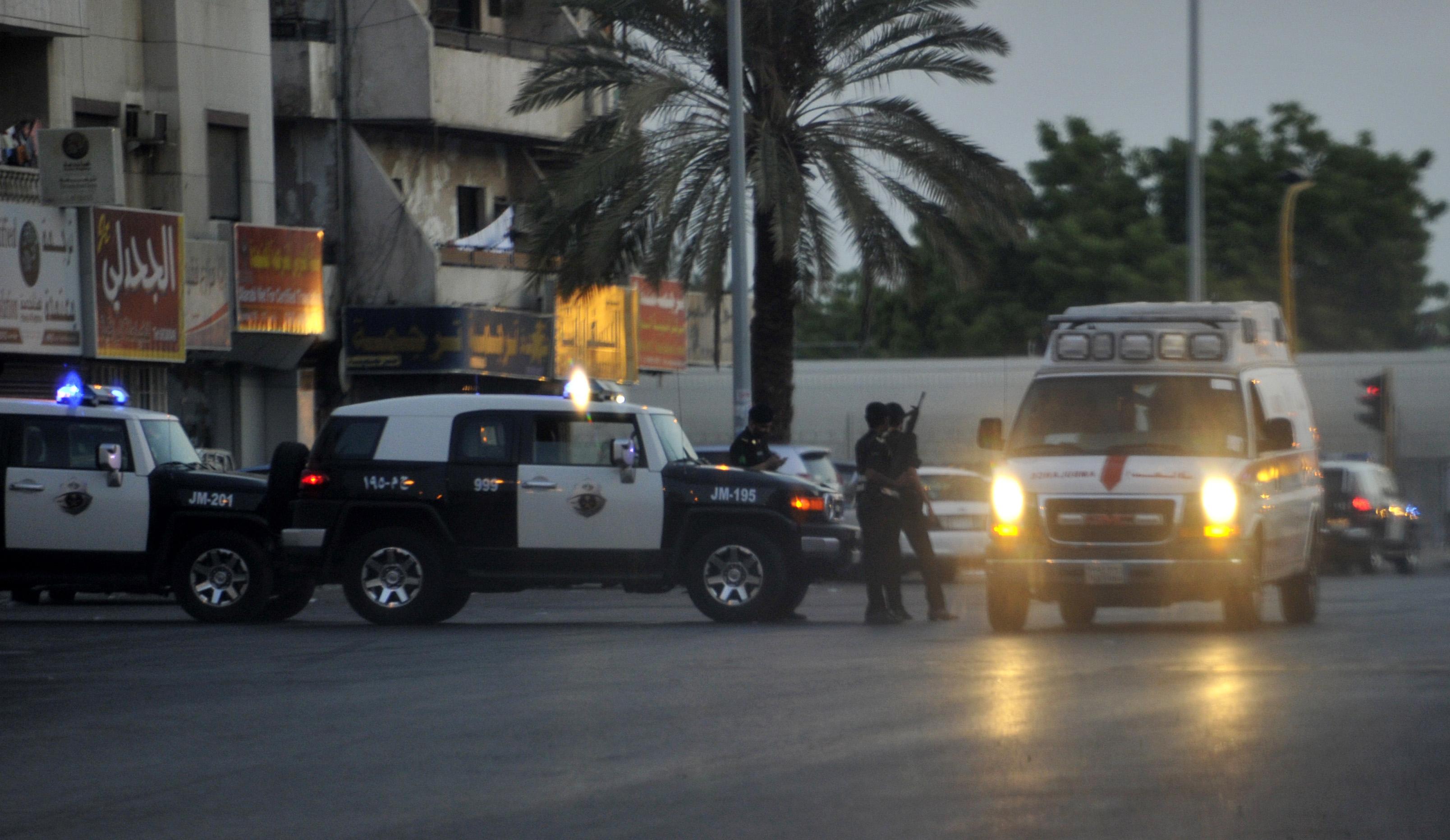 الأمن السعودي يطوق مكان التفجير بمدينة جدة