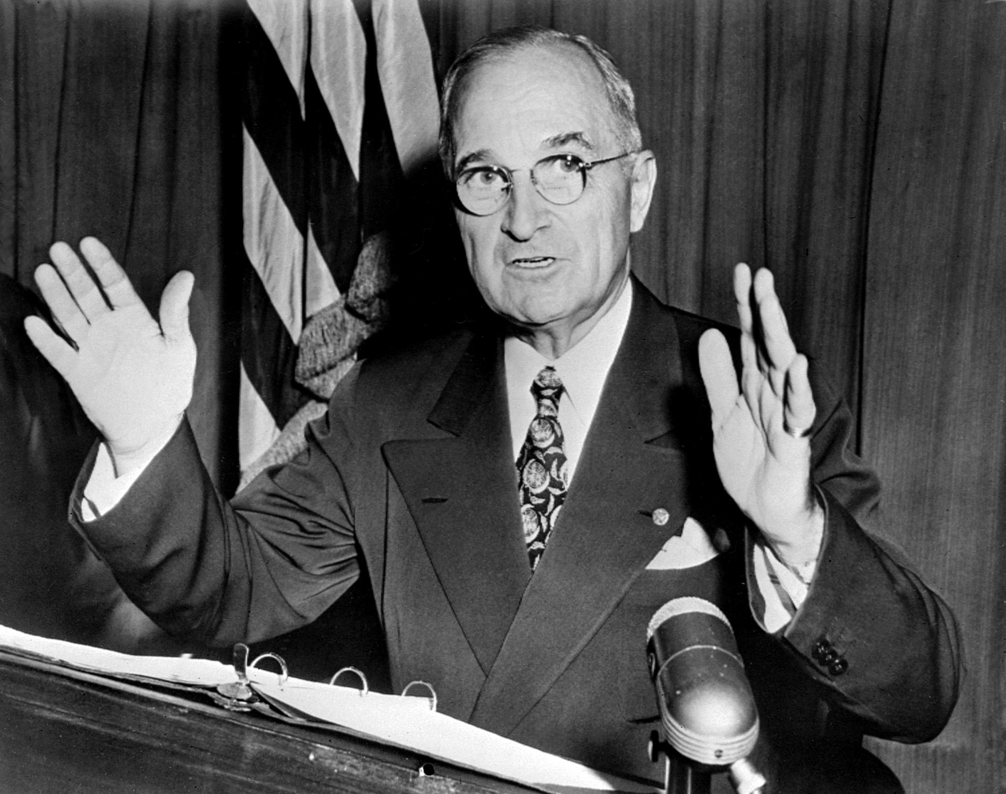 الرئيس السابق هاري تورمان