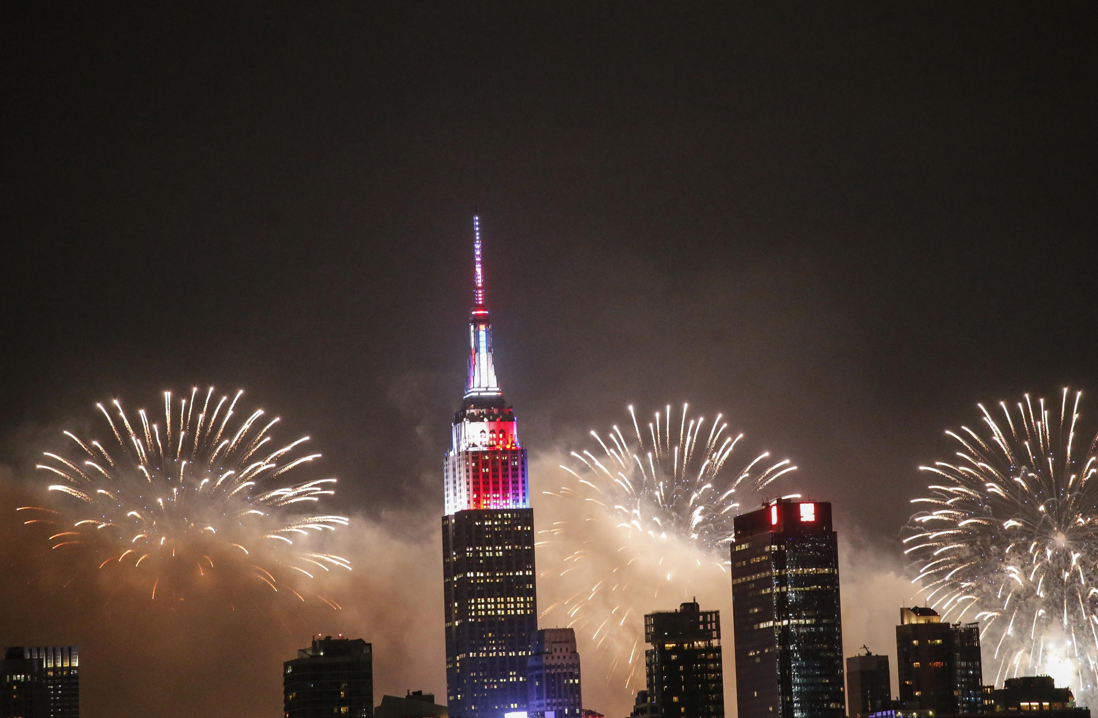 من احتفالات عيد الاستقلال الأميركي في 2018