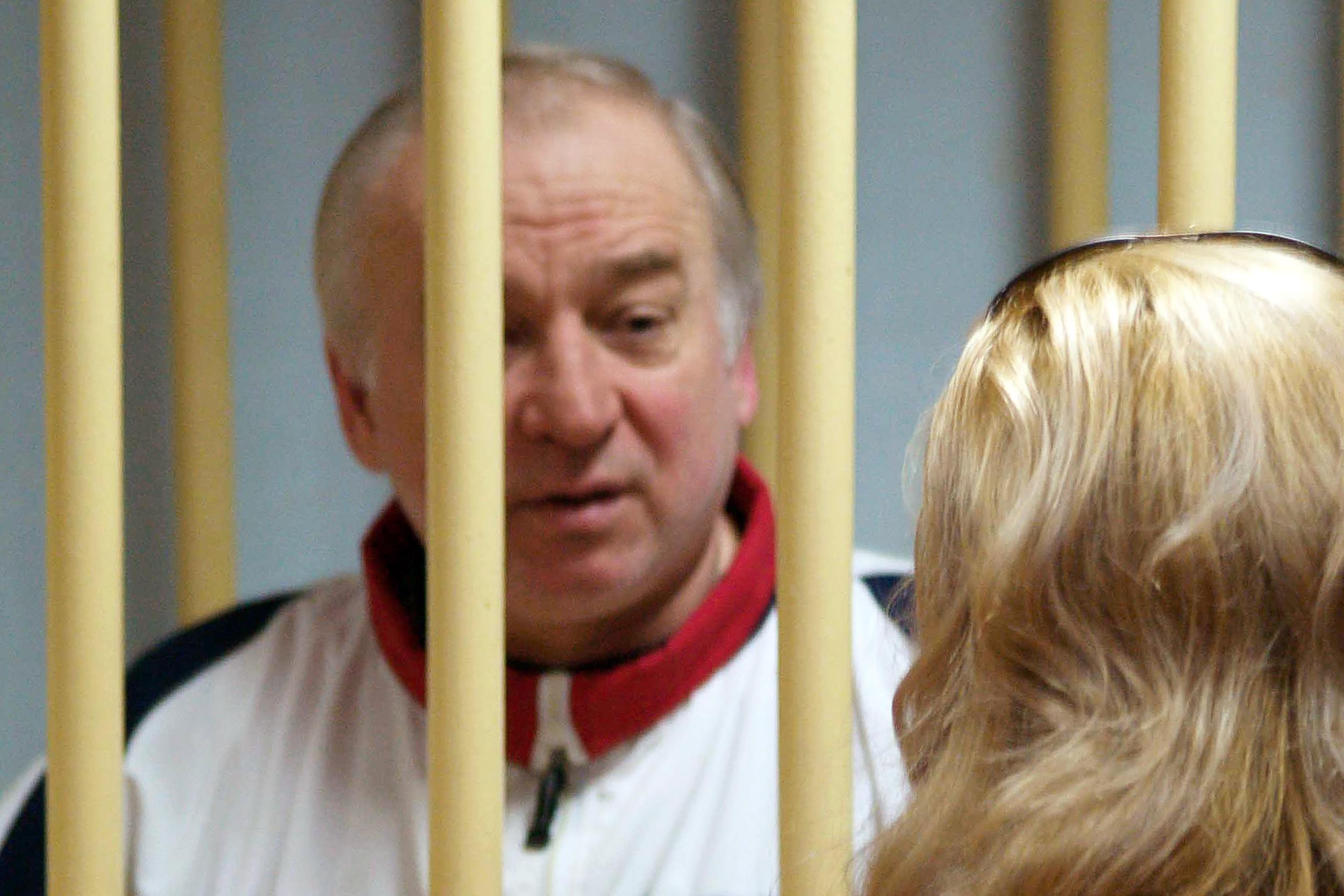سكريبال خلال مثوله أمام محكمة عسكرية في موسكو في أغسطس/آب 2006