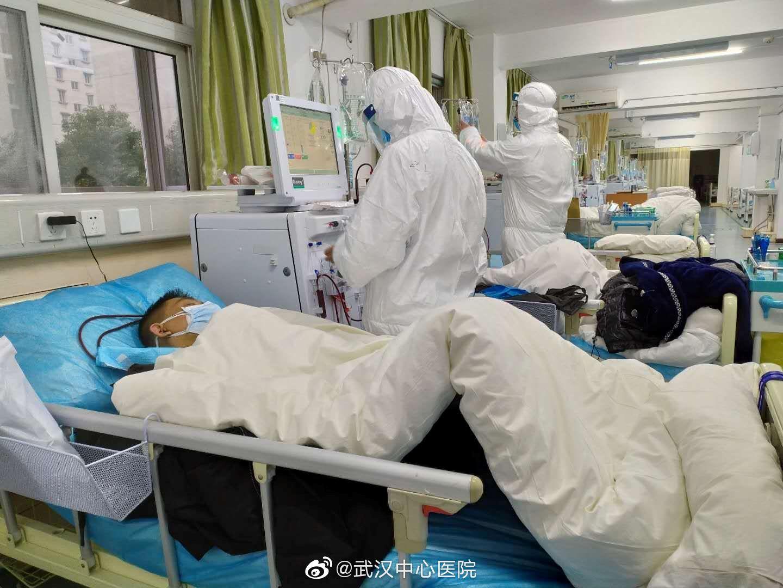 ممرصة صينية تؤكد أن عدد الاصابات في ووهان 90 ألف