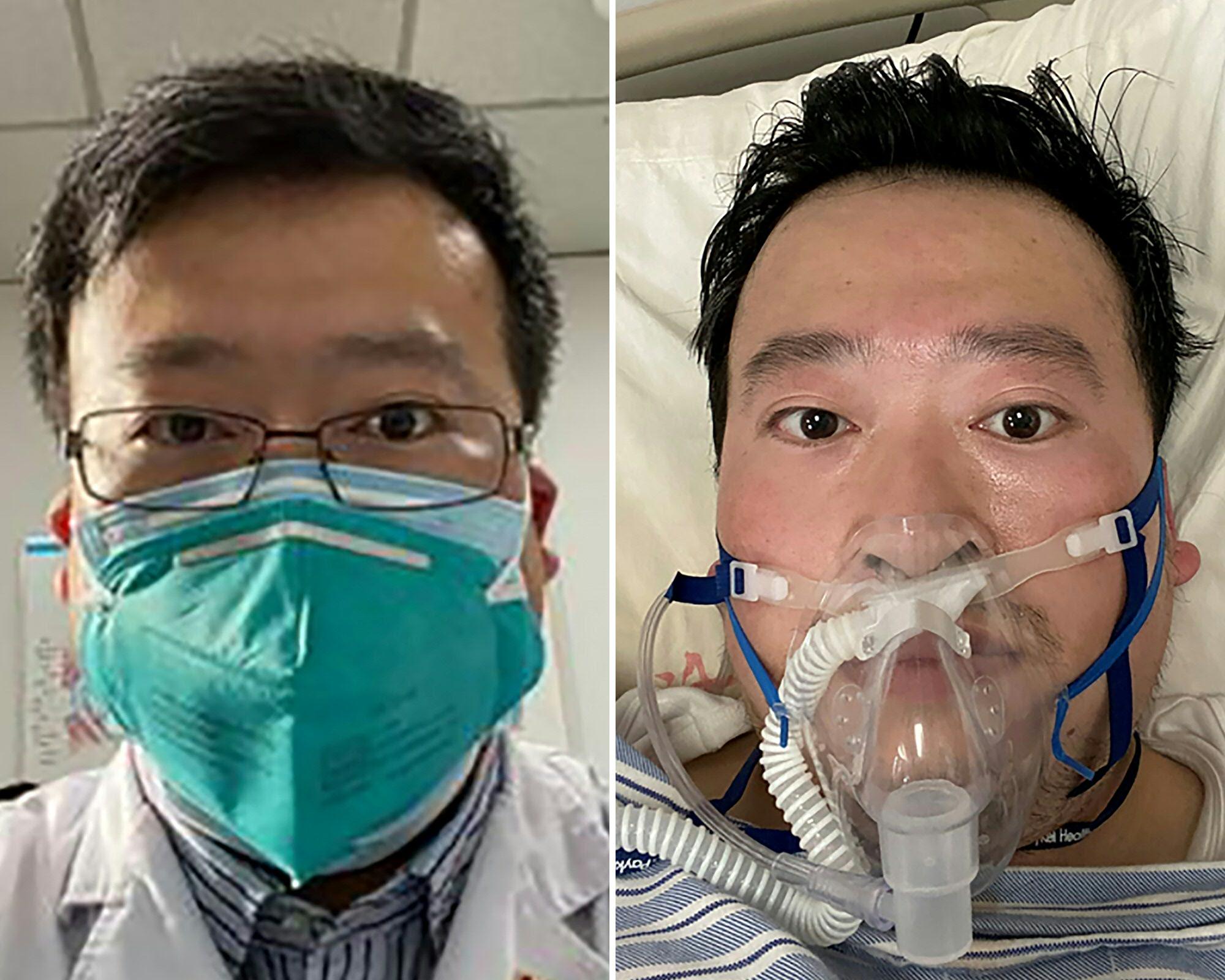 الطبيب الصيني لي وين ليانغ