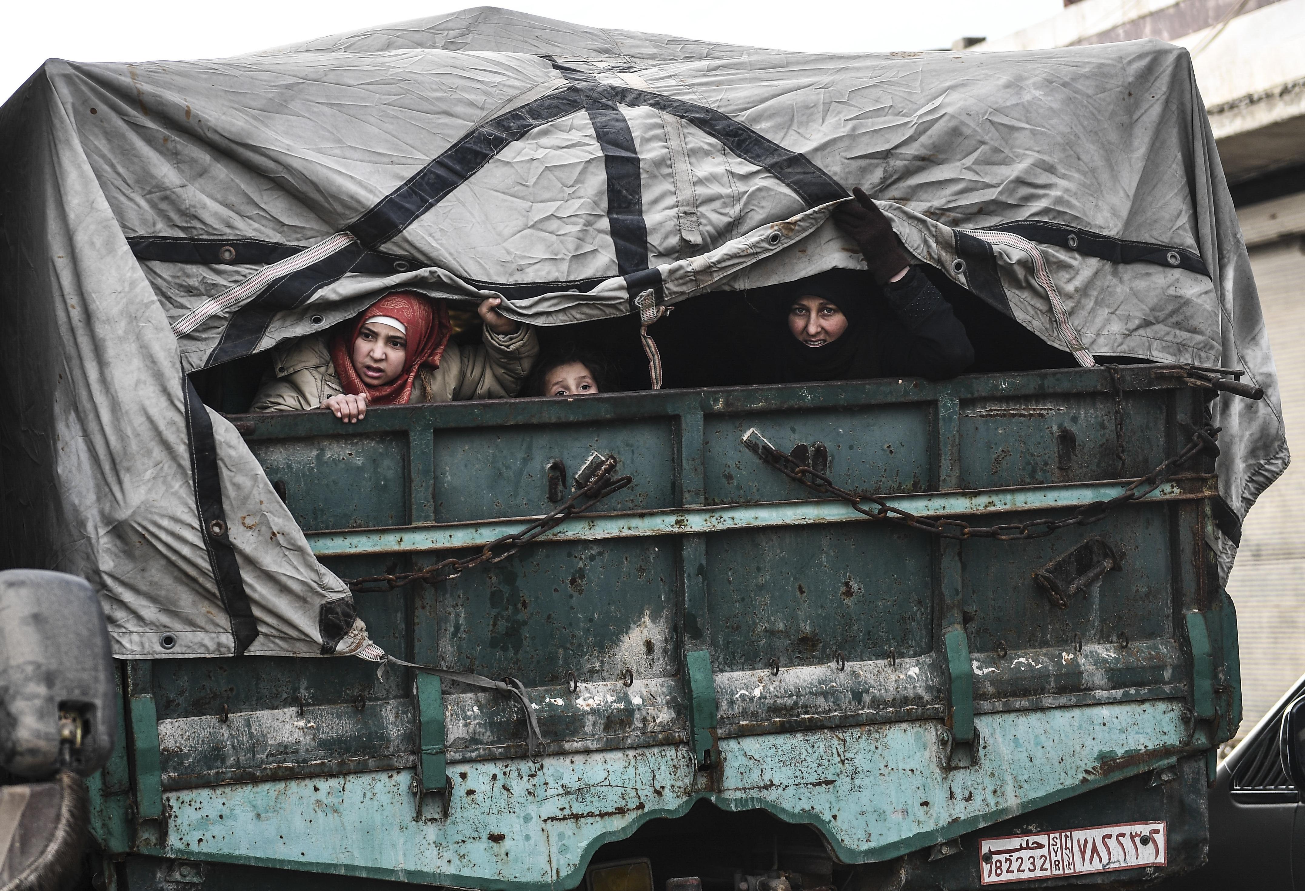الأمم المتحدة تتخوف من استهداف النظام للنازحين