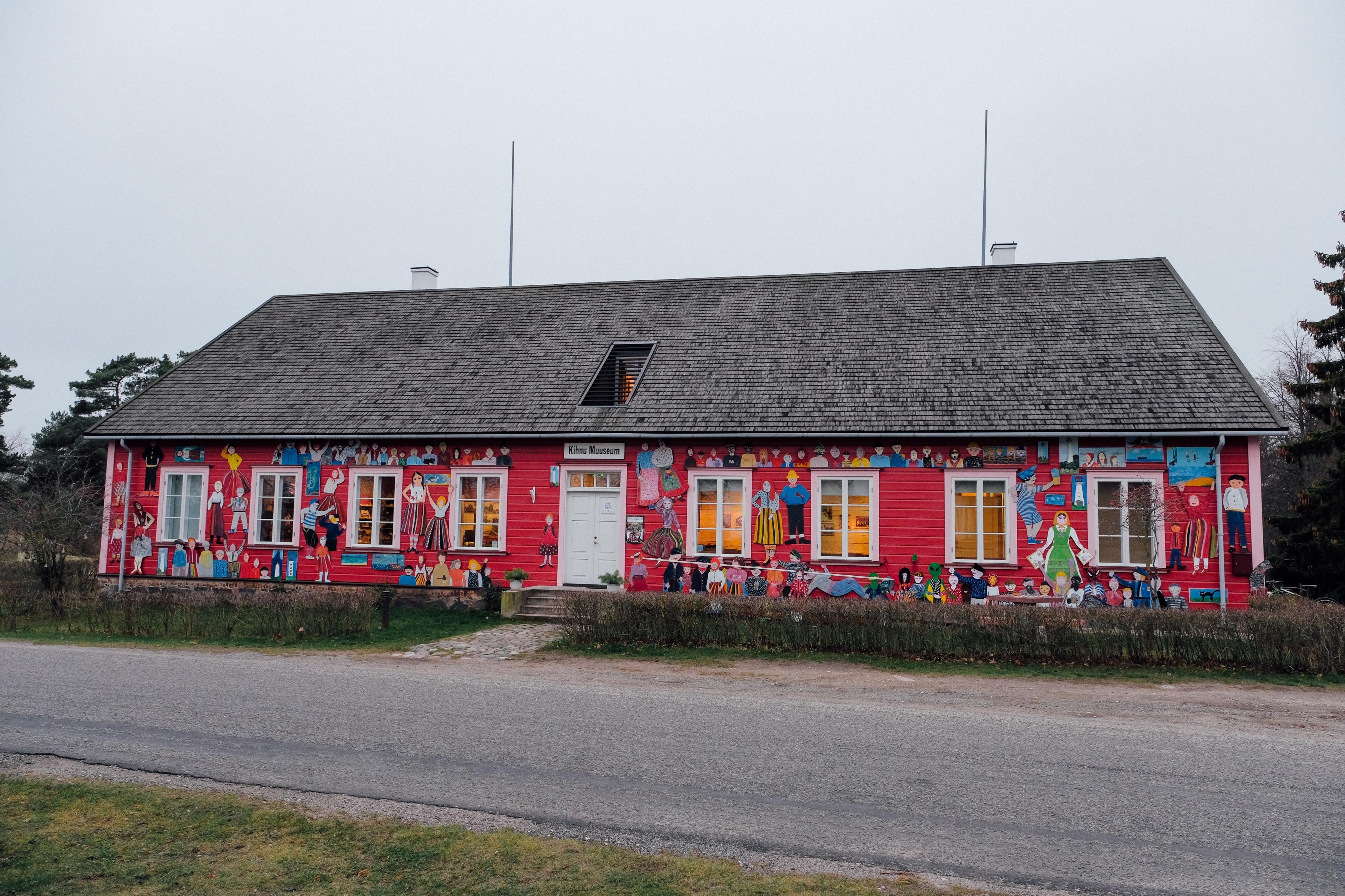 تعتمد جزيرة كينو الإستونية على صيد الأسماك