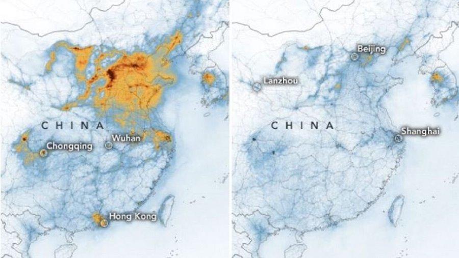 تلوث الهواء في الصين يصل أقصى مراحله ورعب بين السكان أخبار