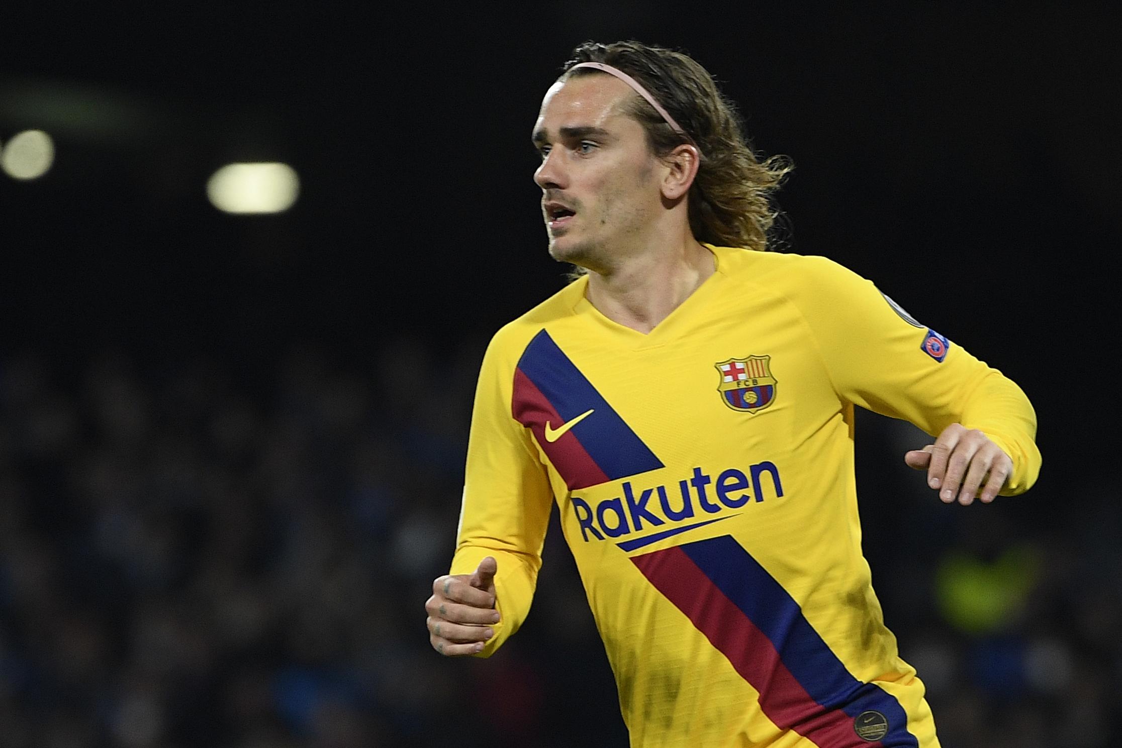 أنطوان غريزمان لاعب برشلونة الإسباني