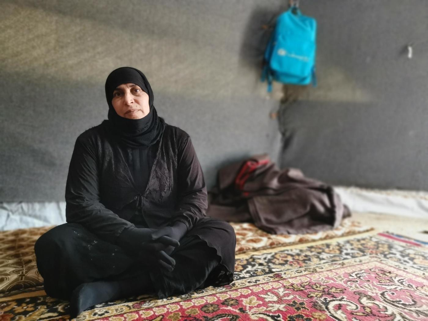 السيدة أم إبراهيم 44 عاما من كركوك