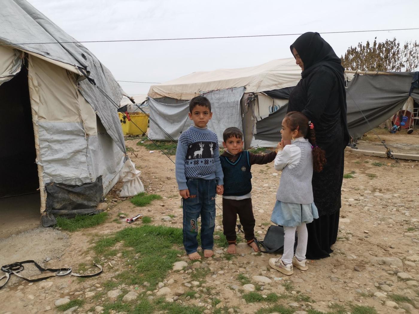 رابية من الموصل نازحة منذ 2017