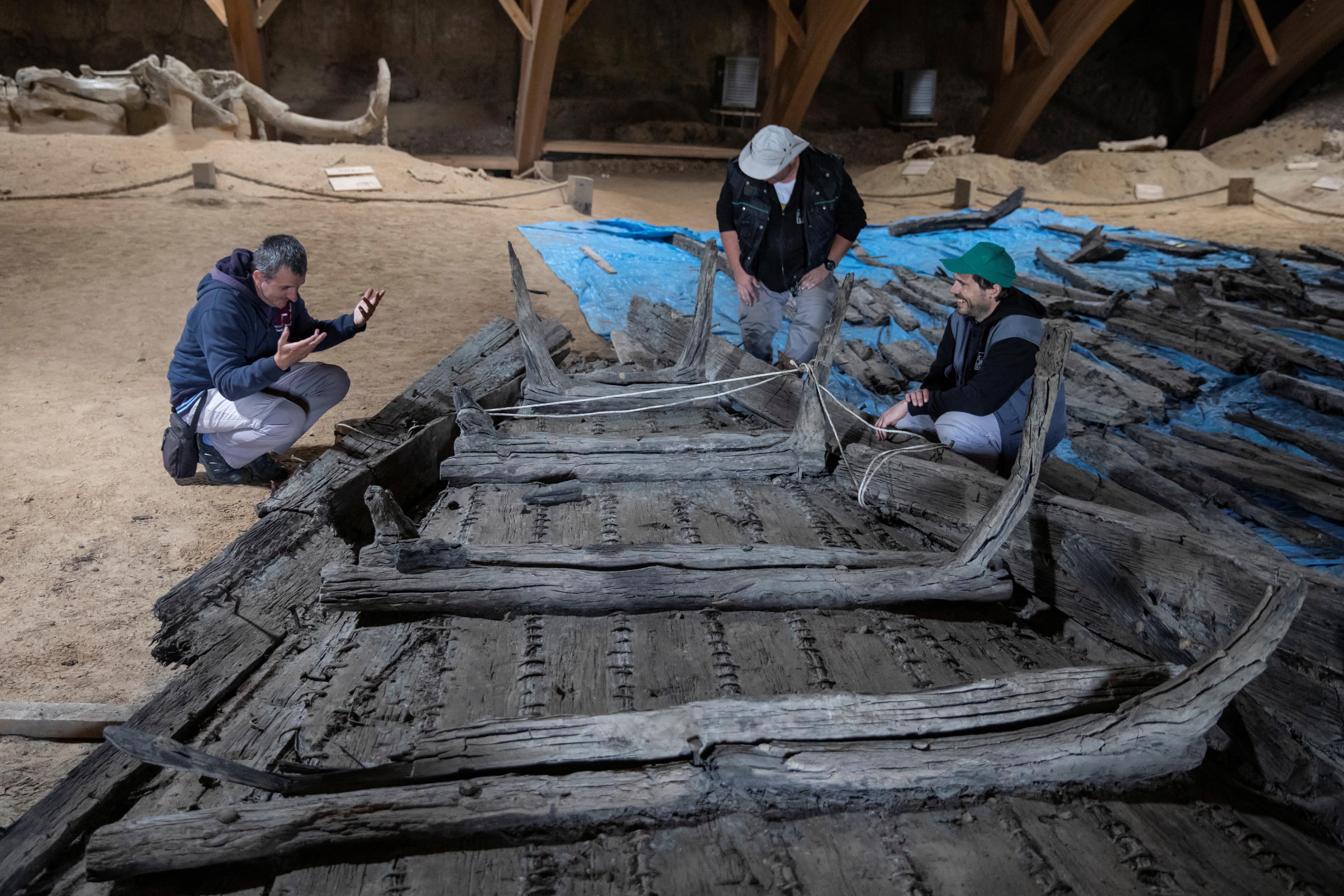 مؤرخون يكتشفون مدينة رومانية قديمة تحت سطح الأرض