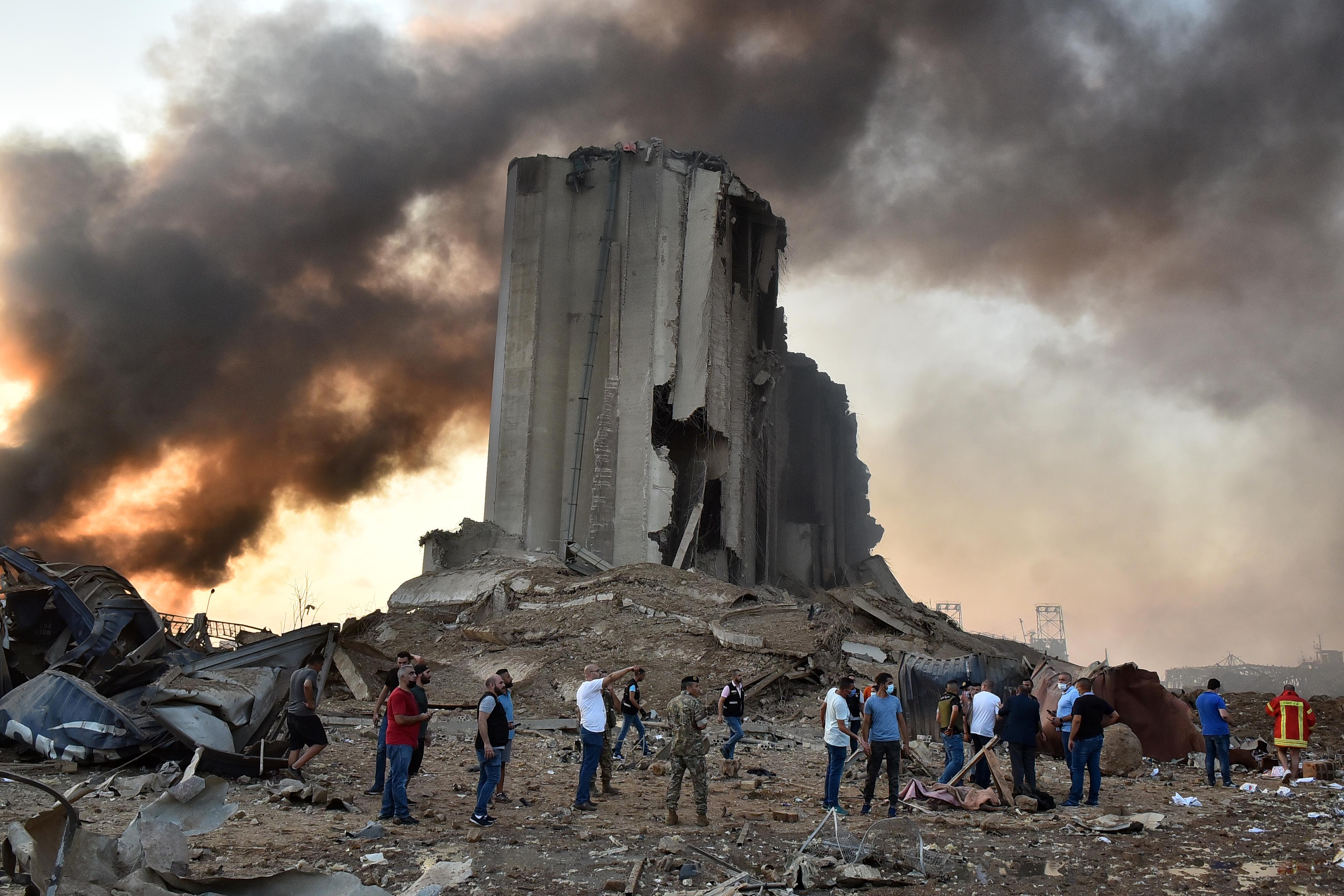 الانفجار أقوى من تفجير 2005 الذي قتل رئيس الحكومة الأسبق رفيق الحريري