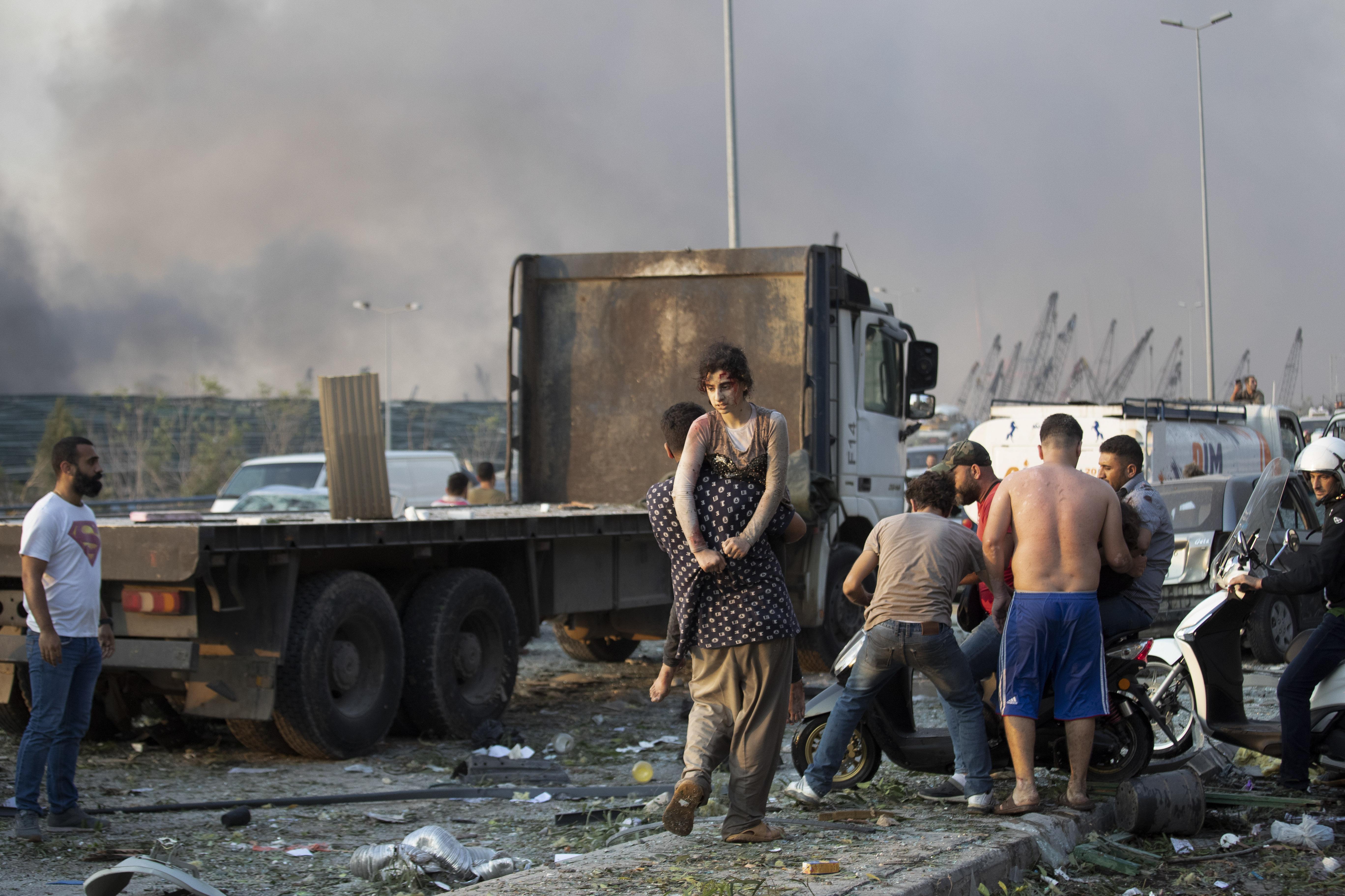 استنفار عام للجميع أطلقه الصليب الأحمر اللبناني