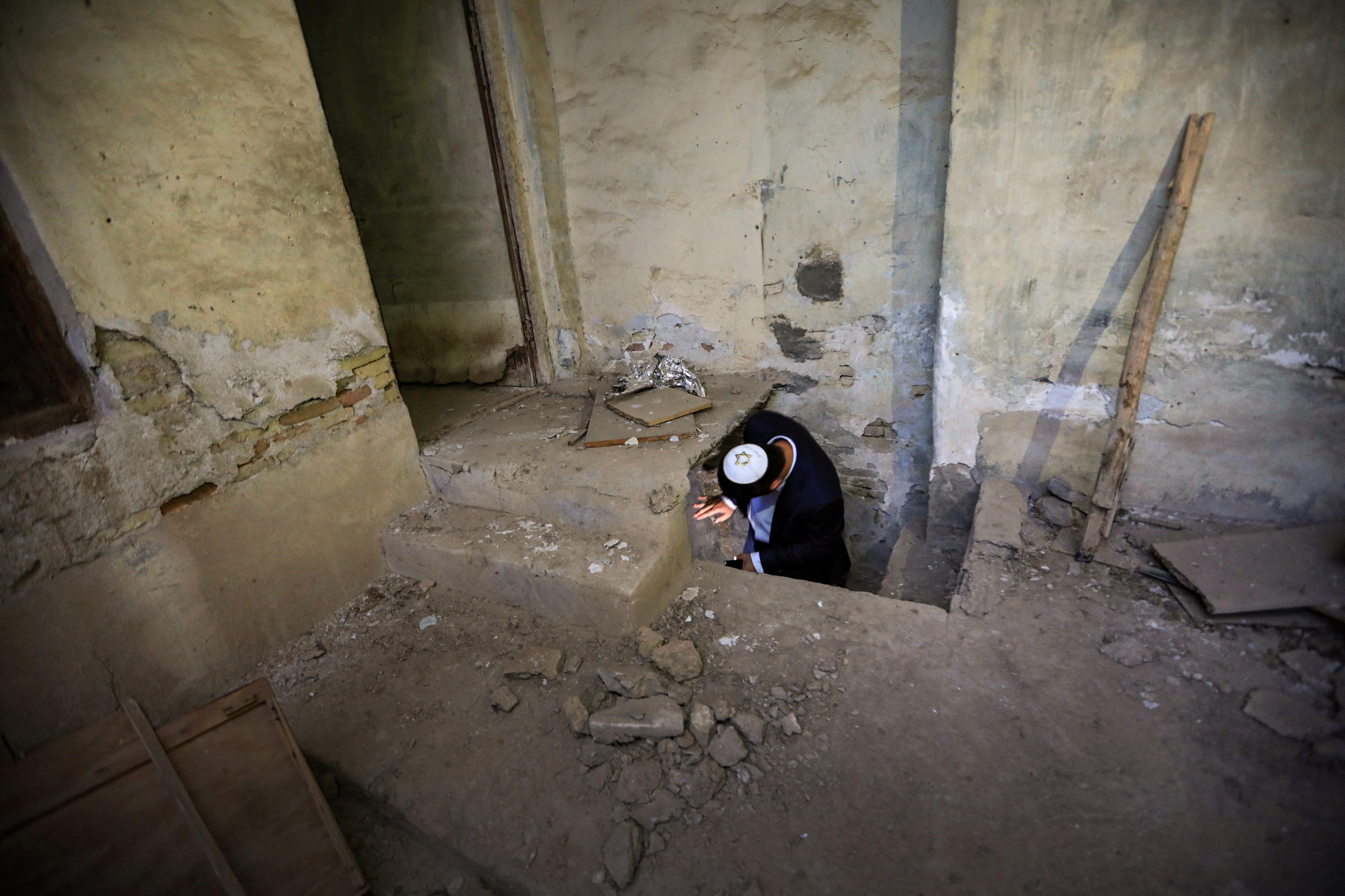 كنيس يهودي يحتاج إلى الترميم في أربيل