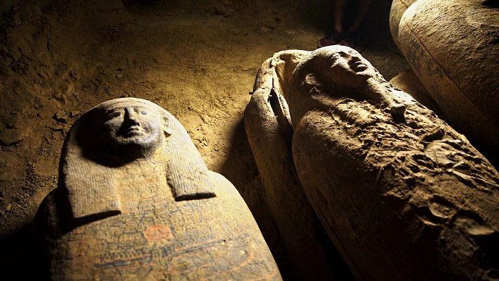 توابيت فرعونية