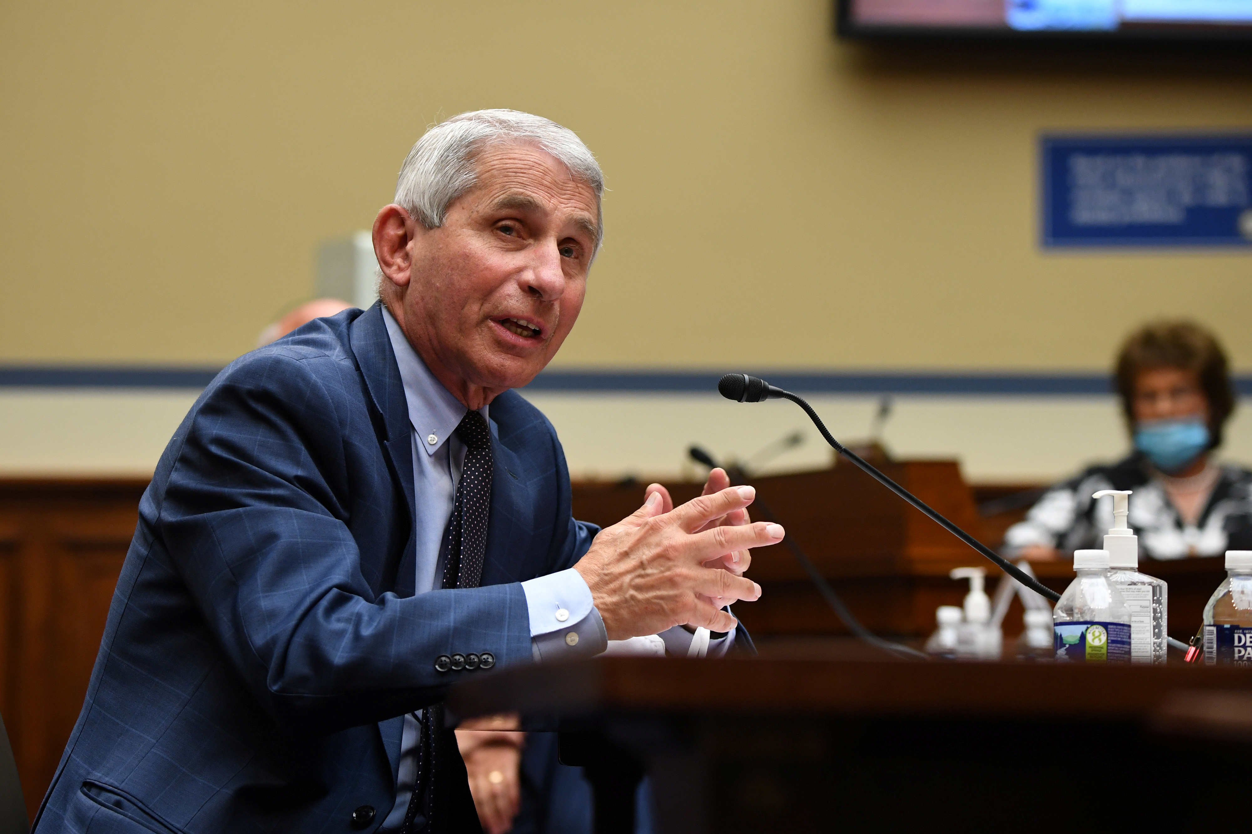 Fauci stressed that life will not return to normal until mid-2021