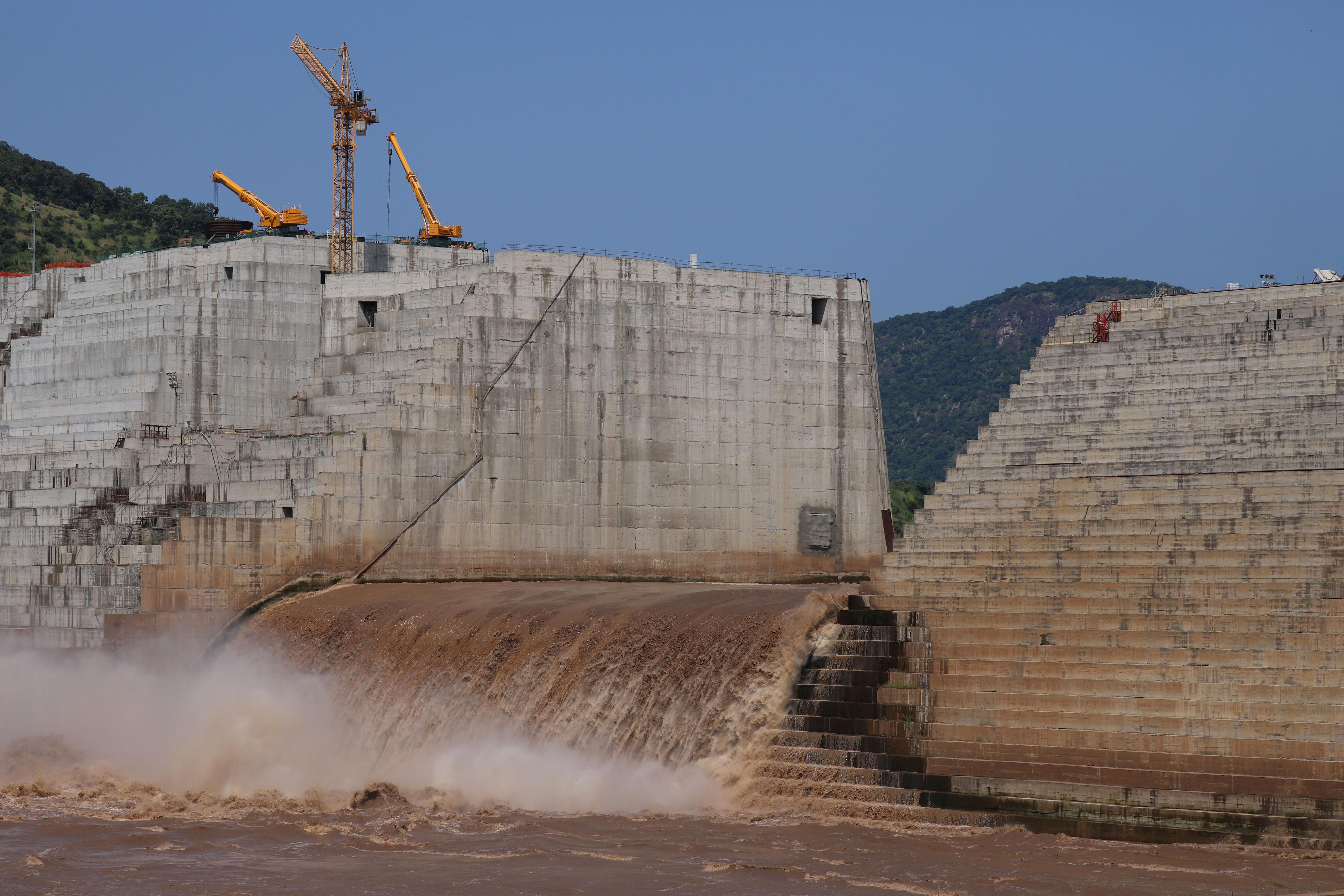 سد النهضة يقع على بعد حوالي 15 كيلومترا من حدود إثيوبيا مع السودان