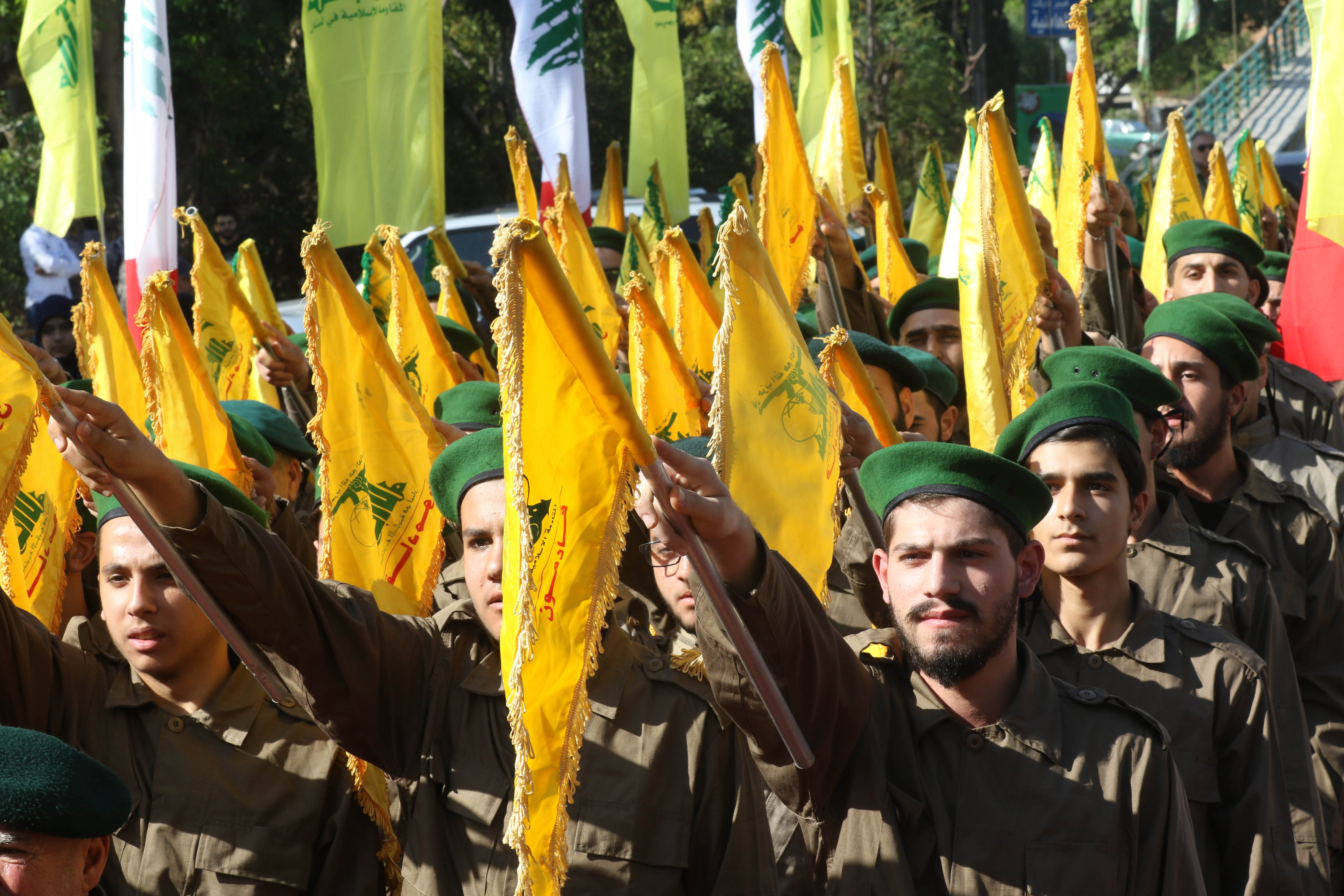 """Lebanon's Hezbollah prepares for the """"moment of the collapse of the state"""""""