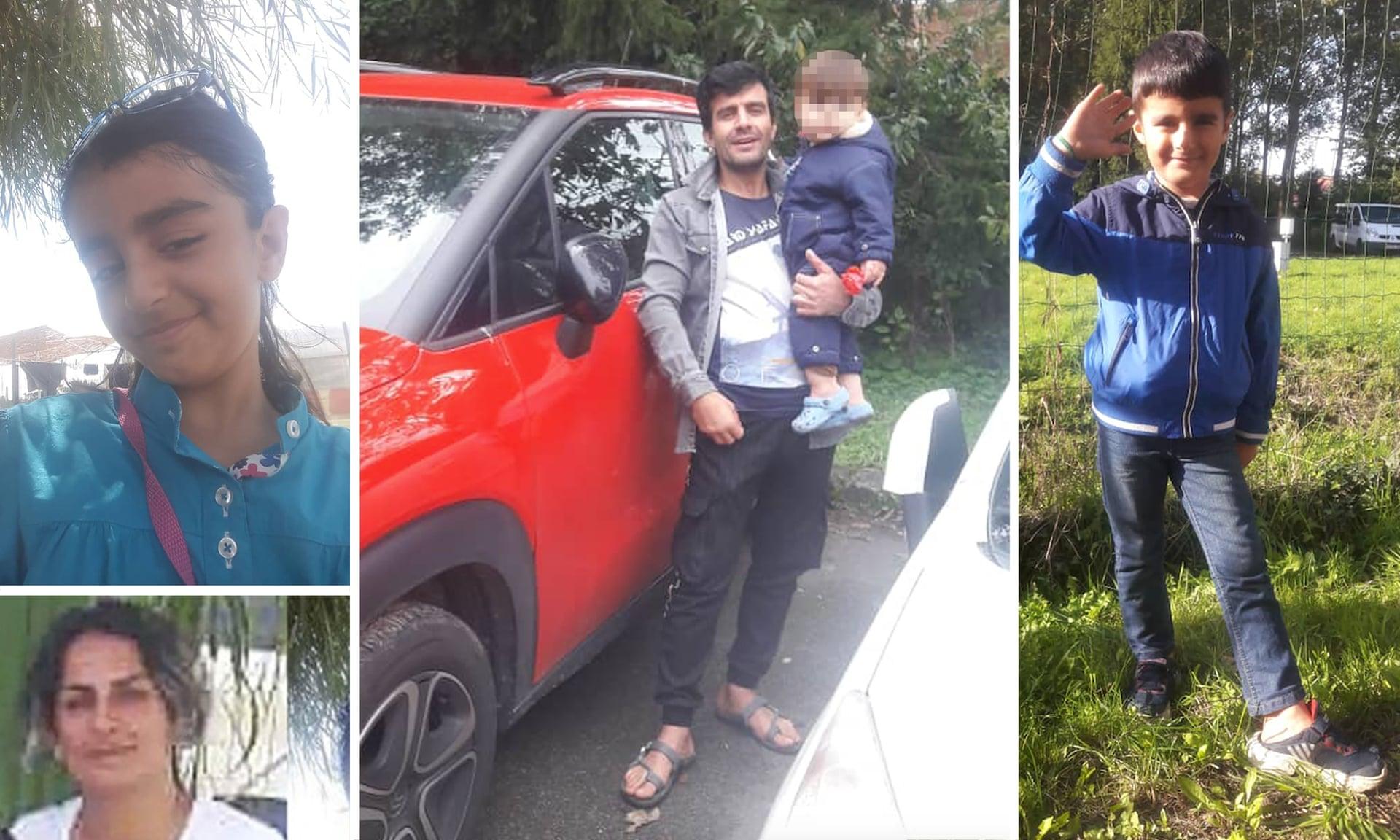 غرق أسرة إيرانية بالكامل أثناء هجرتهم إلى بريطانيا