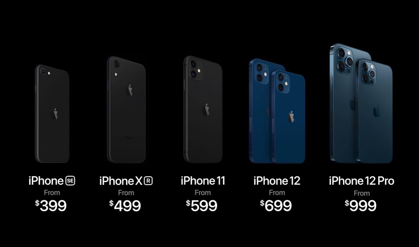 أسعار هواتف آبل 12 من 700 إلى 1000 دولار