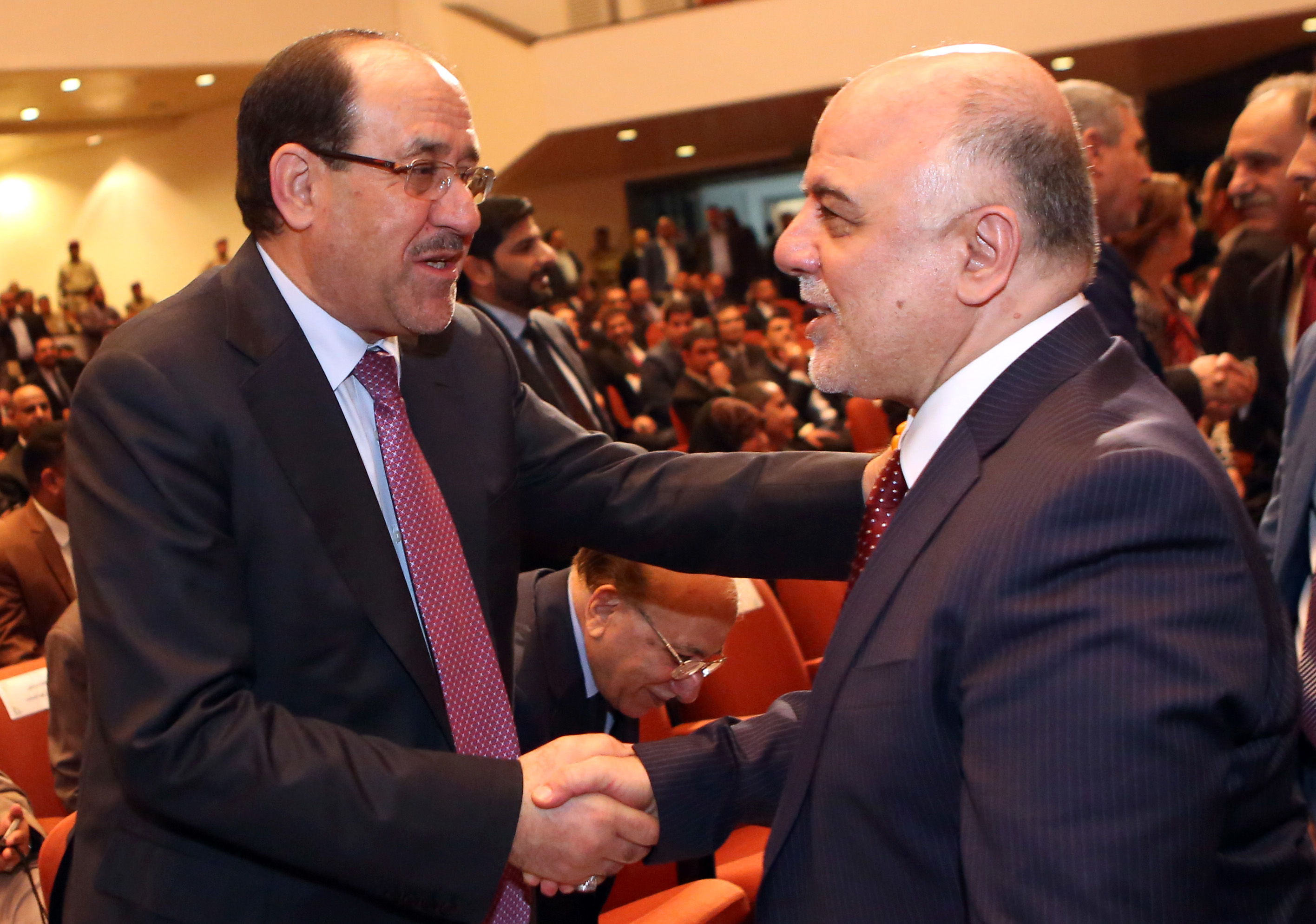 Al-Maliki is flirting with Iran ... and his eye is on power in Iraq 000_Nic6369028