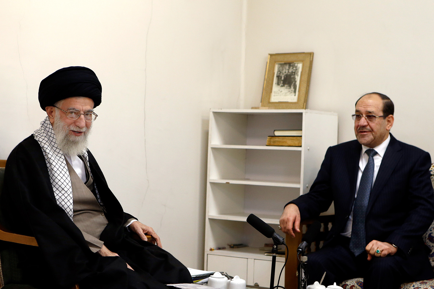 Al-Maliki is flirting with Iran ... and his eye is on power in Iraq 000_Nic6386087