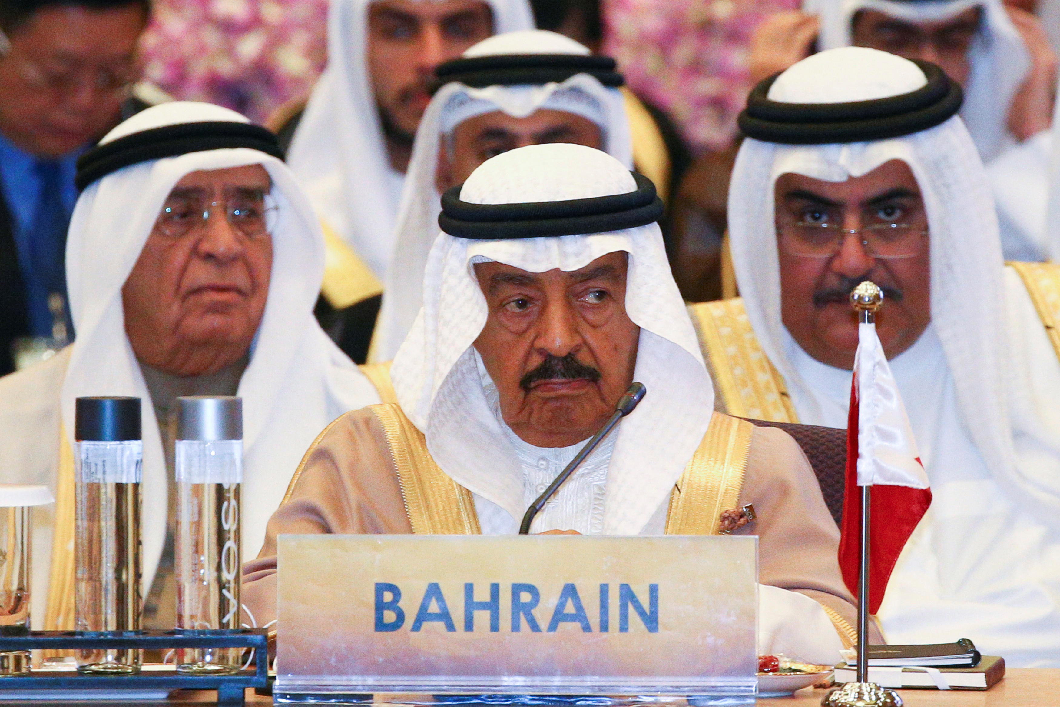 الديوان الملكي في البحرين أعلن عن وفاة رئيس الوزراء الشيخ خليفة بن سلمان آل خليفة