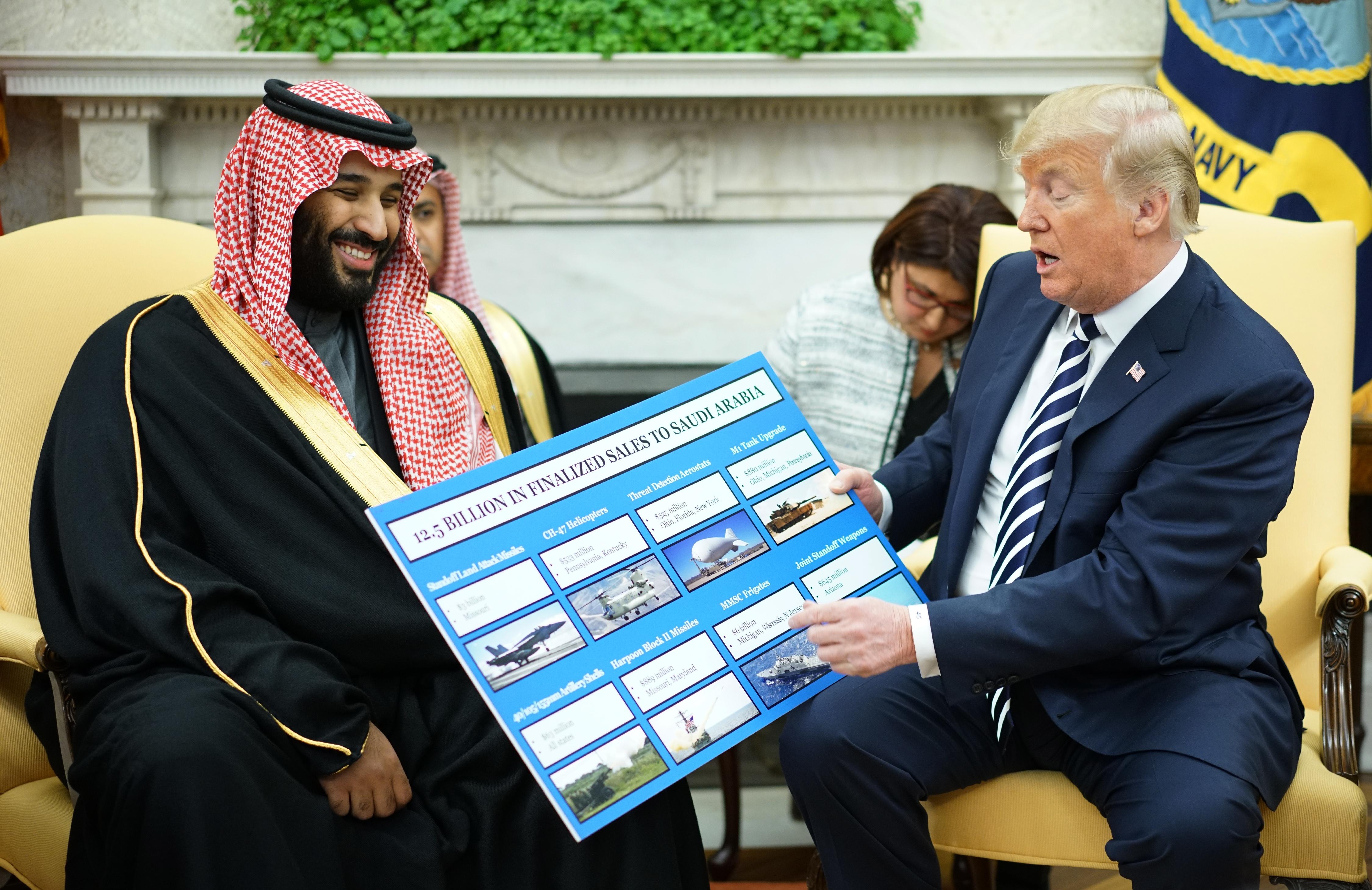 أعضاء في الكونغرس طلبوا أكثر من مرة وقف بيع الأسلحة للسعودية