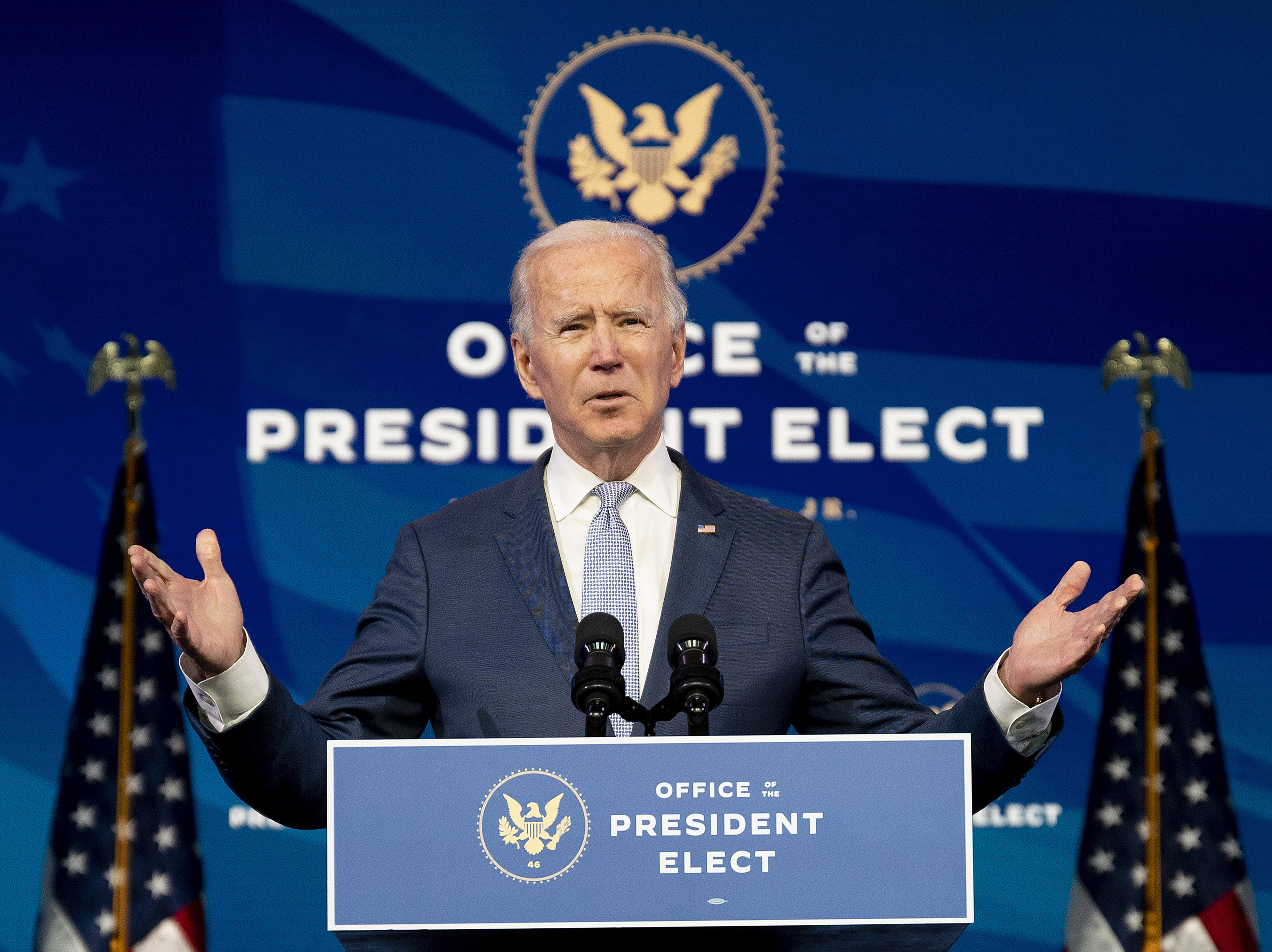بايدن رفض التطرق إلى الحديث عن التعديل الذي يسمح بعزل الرئيس