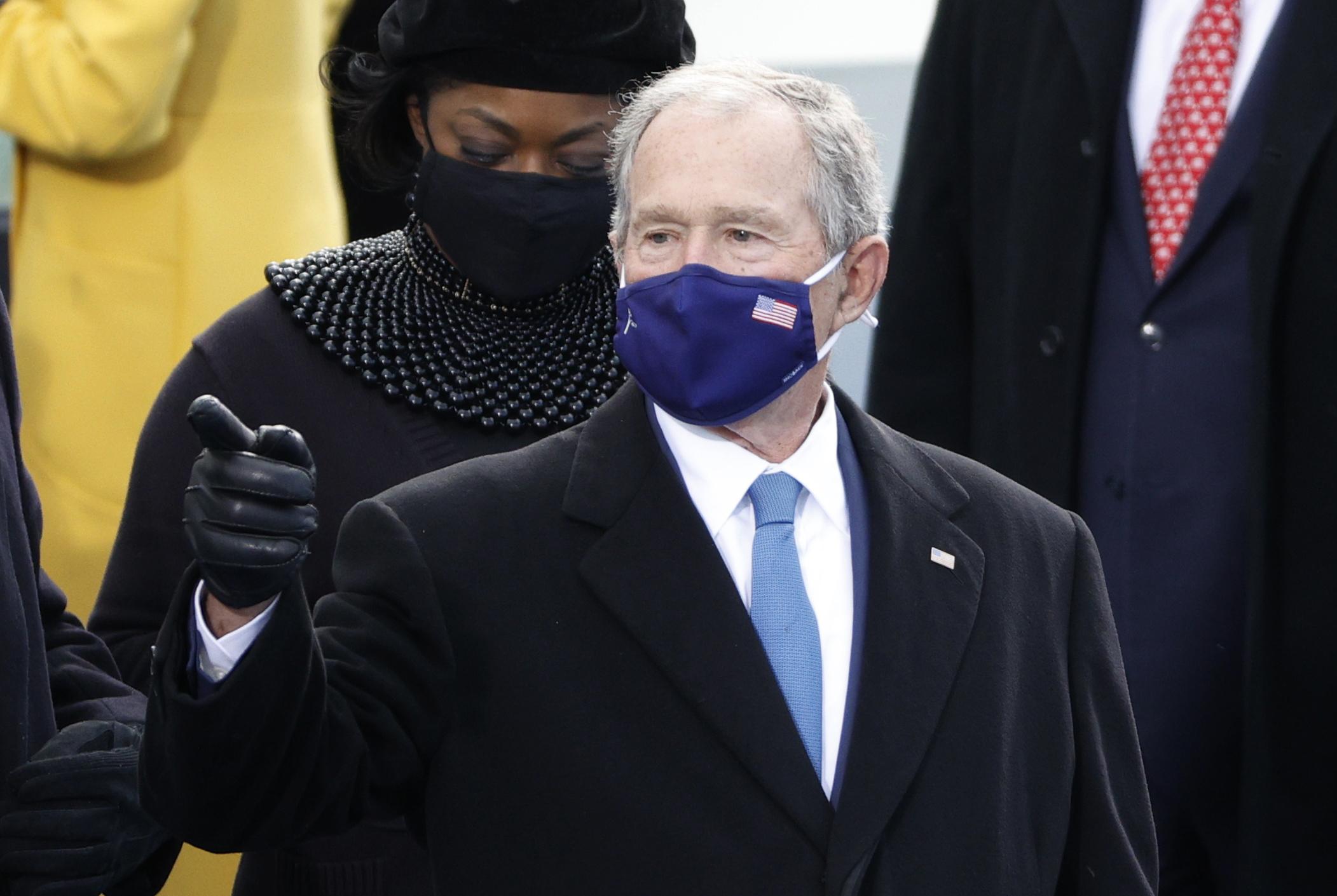 الرئيس الجمهوري الأسبق جورج بوش