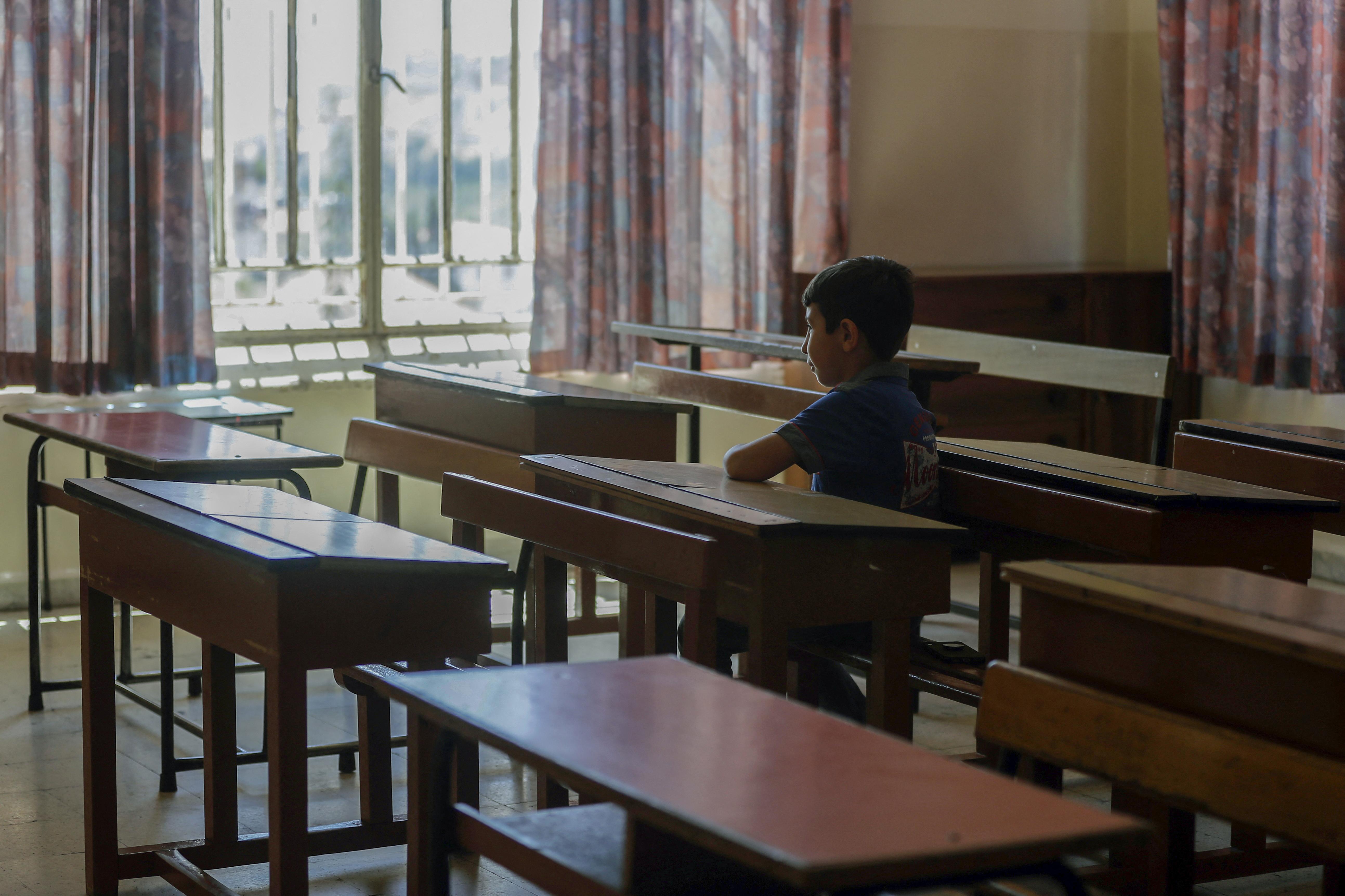 التعليم عن بعد أسوأ ما أصاب أطفال لبنان. أرشيفية