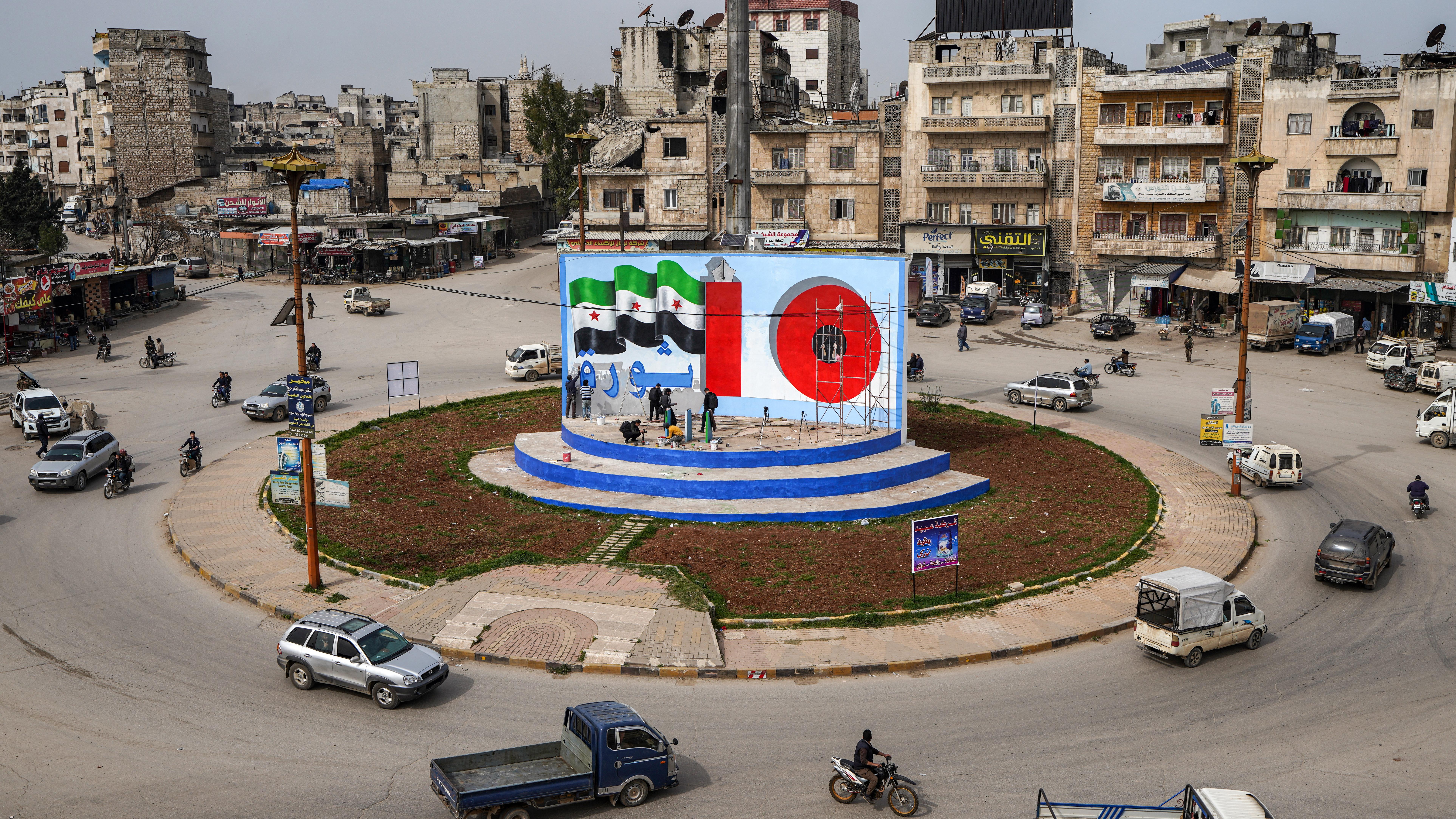 10 سنوات على الثورة السورية