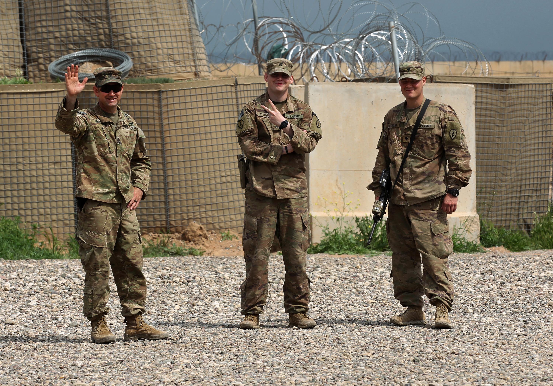 الطرفان ناقشا وجود قوات التحالف القتالية في العراق