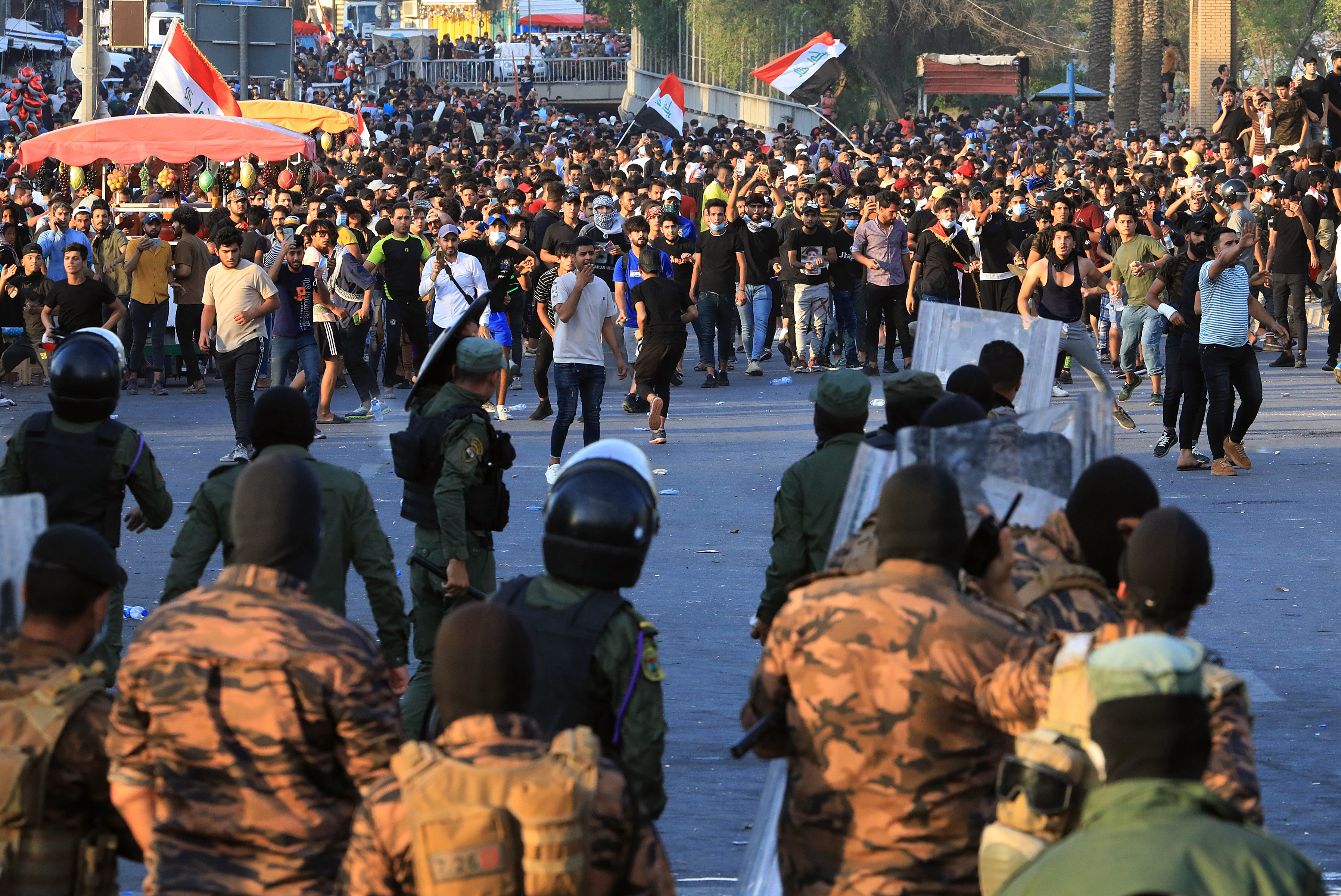 العراق-تظاهرات
